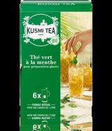 Grüner Tee mit Minze bio