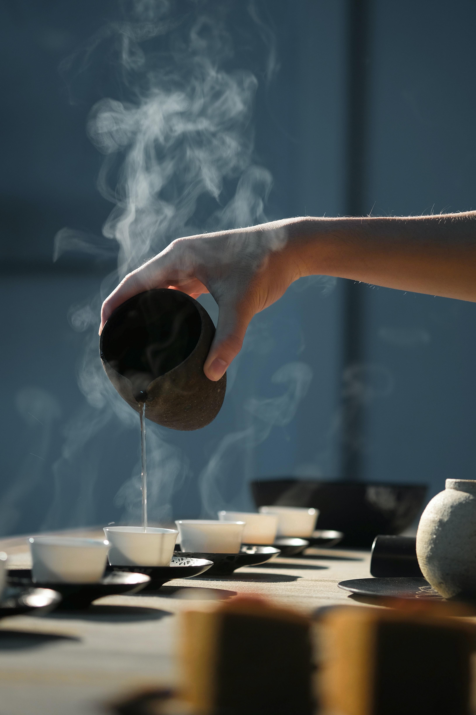 Service thé vert bio de Chine