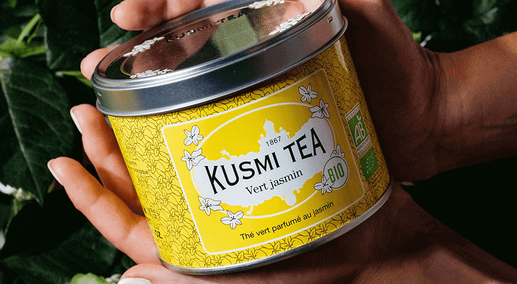 thé vert de qualité made in France