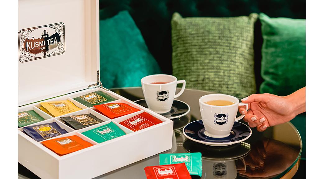Kusmi tea dans votre hôtel