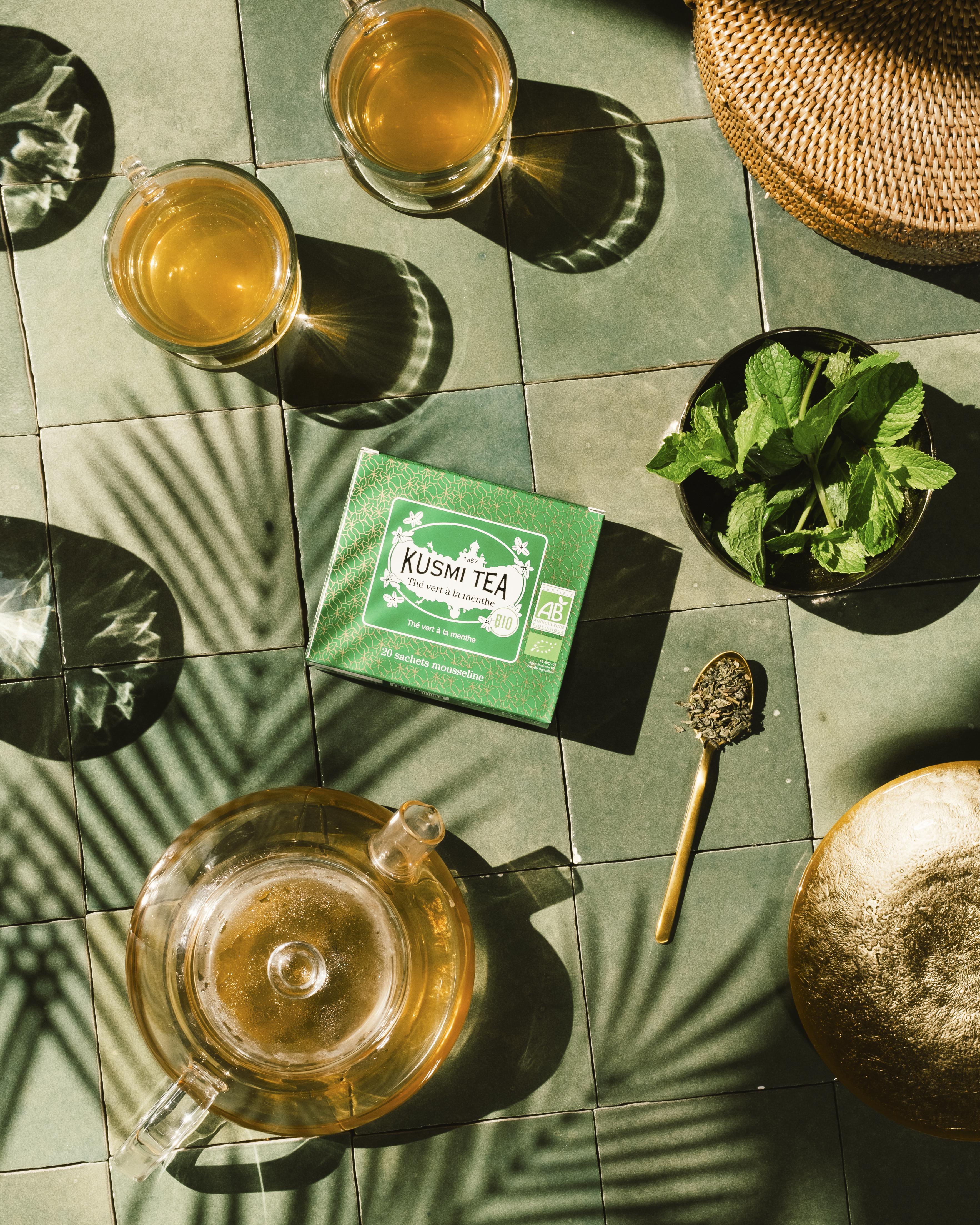 Le Maroc, le thé à la menthe