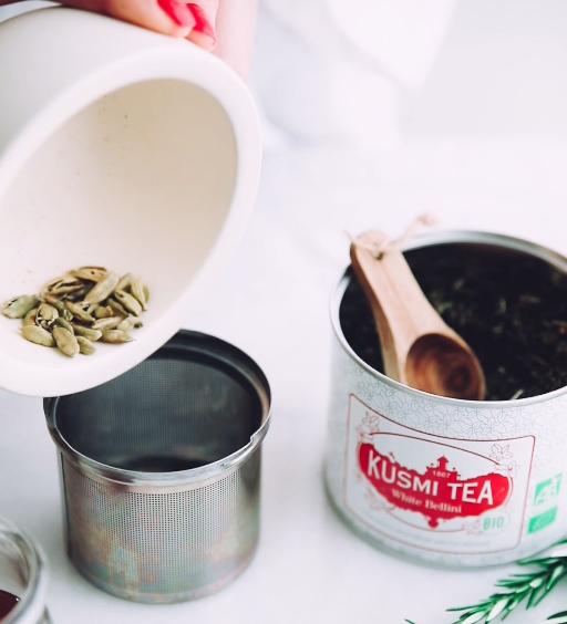 Cardamon ingredient kusmi tea