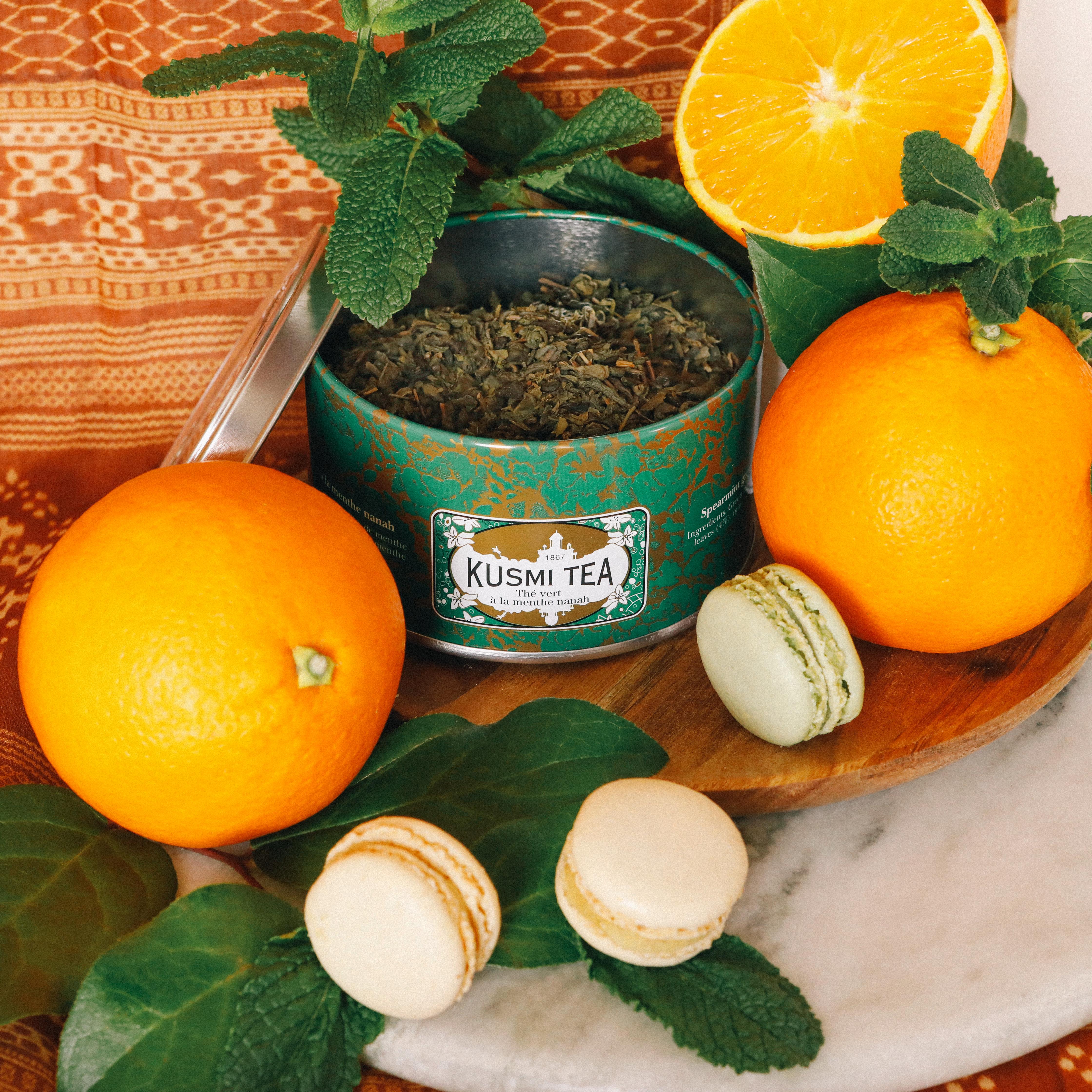 spearmint green tea organic