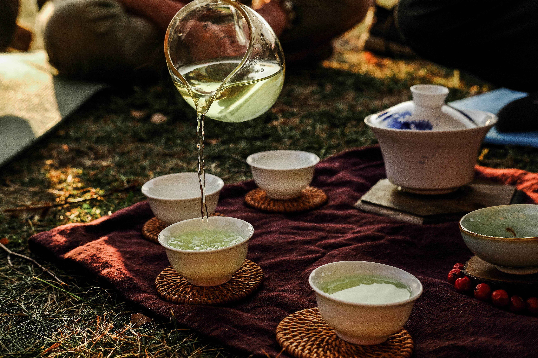 tasse de thé vert bio de chine