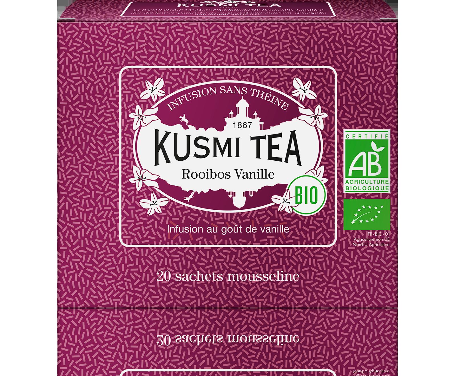 Rooibos Vanille (Infusion bio) - Kusmi Tea