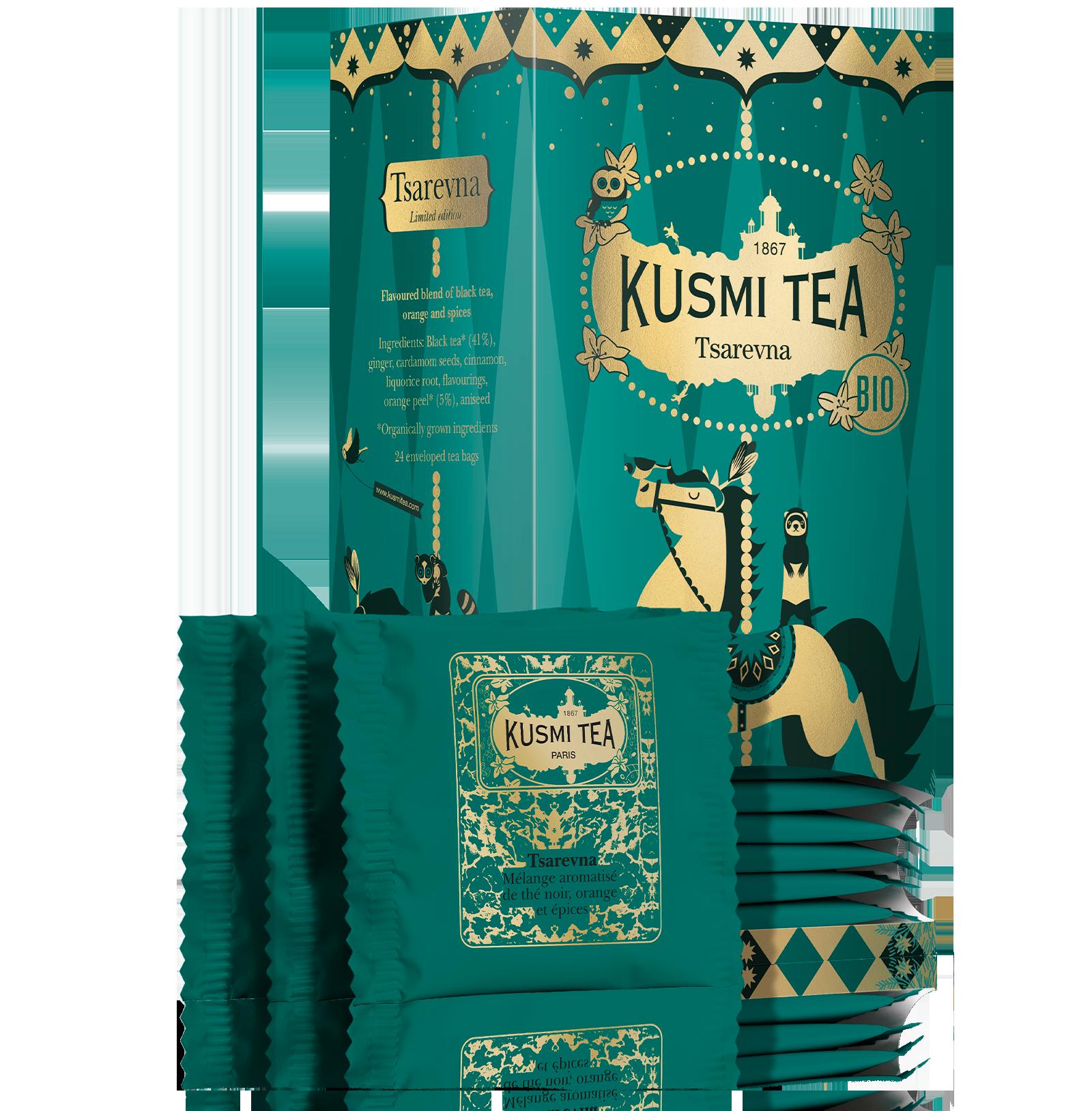 Thé noir - Tsarevna Bio - Vrac - Kusmi Tea