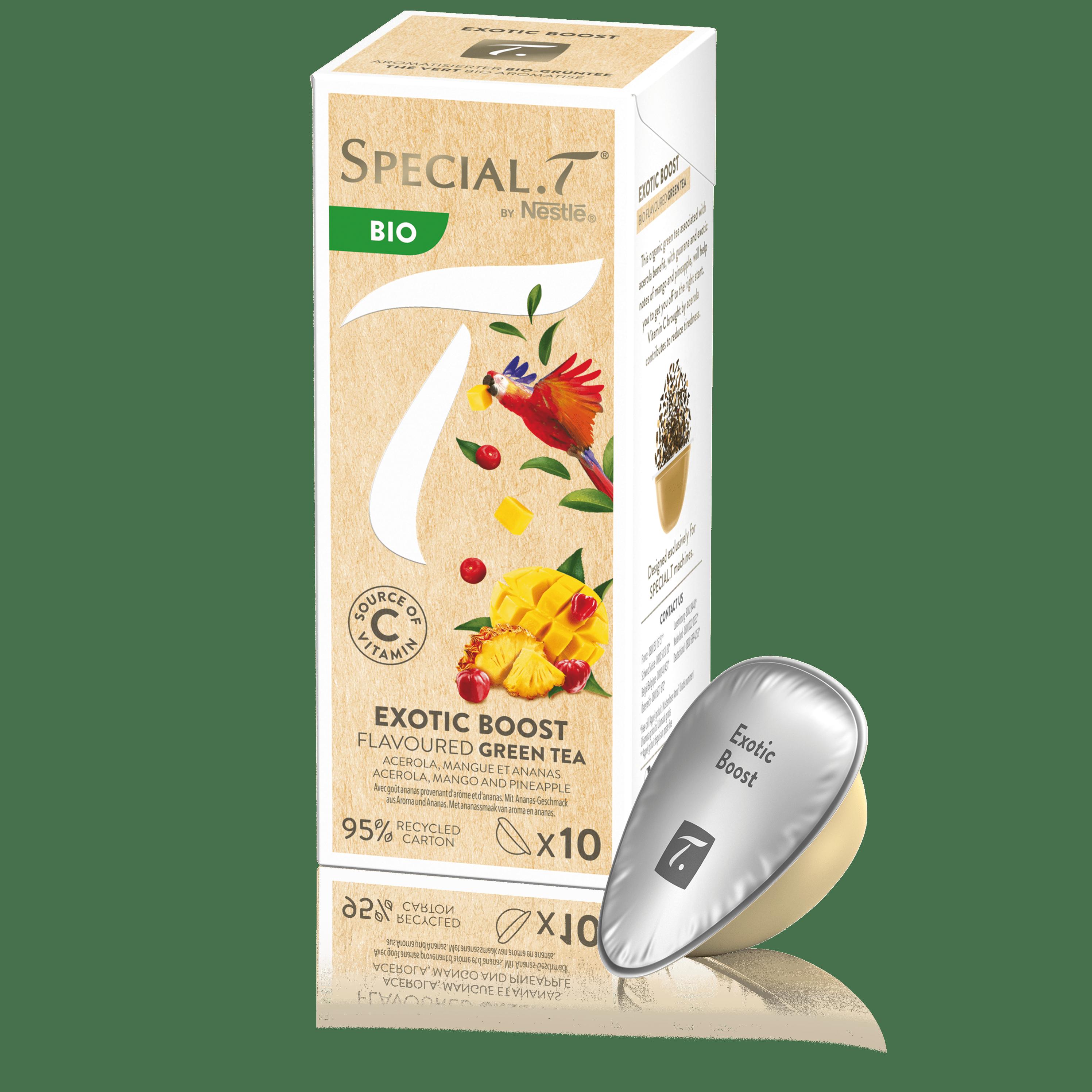 Thé vert - Capsule Exotic Boost bio - Special.T - Kusmi Tea