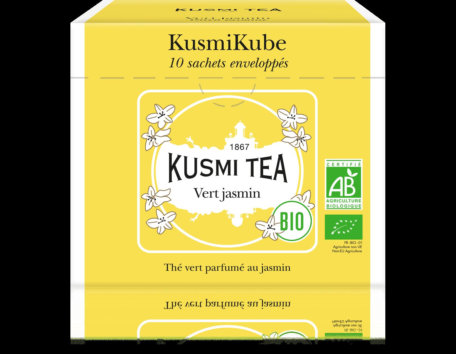 Vert Jasmin bio - Thé vert au jasmin - Sachets de thé - Kusmi Tea