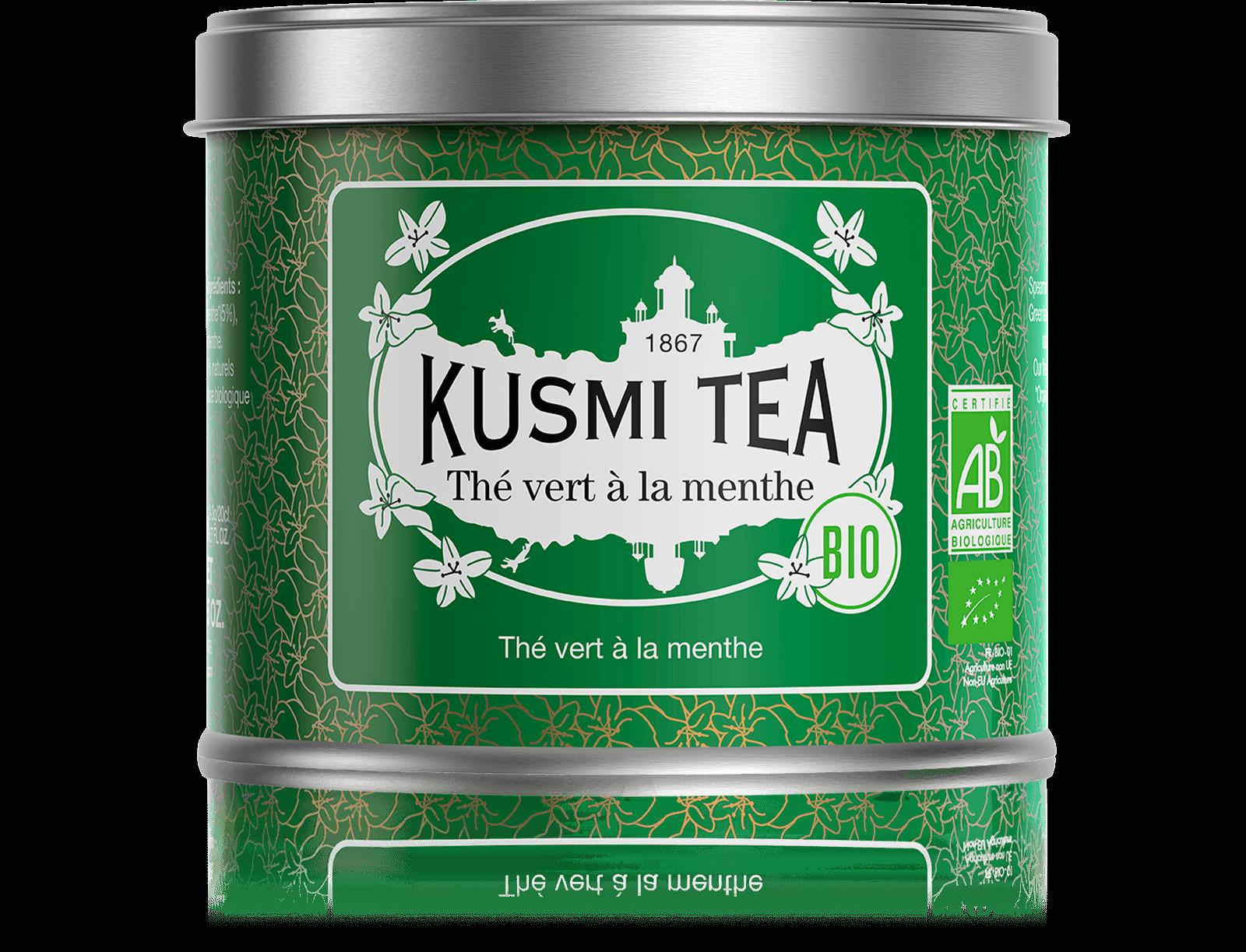 Thé vert à la menthe Bio - Kusmi Tea