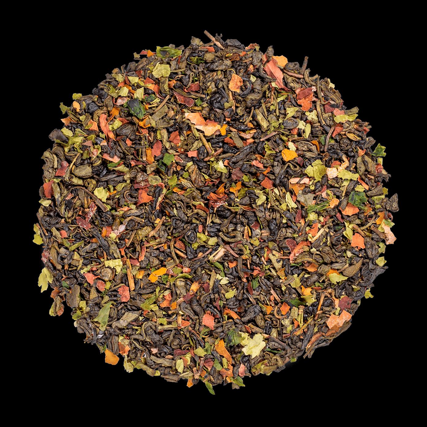 Algothé - Thé vert aromatisé aux algues et à la menthe - Thé en vrac - Kusmi Tea