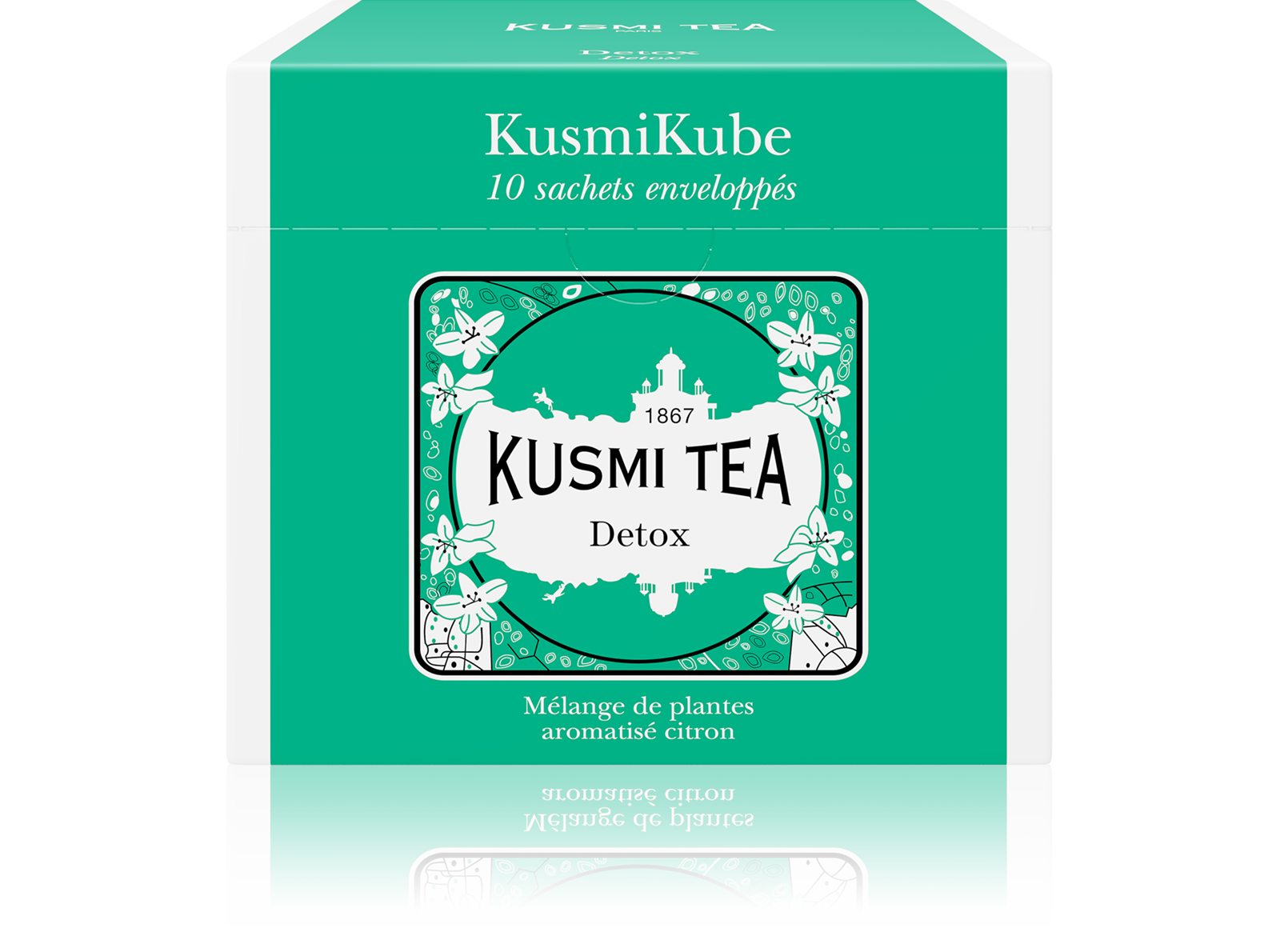 Detox- Thé vert, Maté, Citron - Kusmi Tea