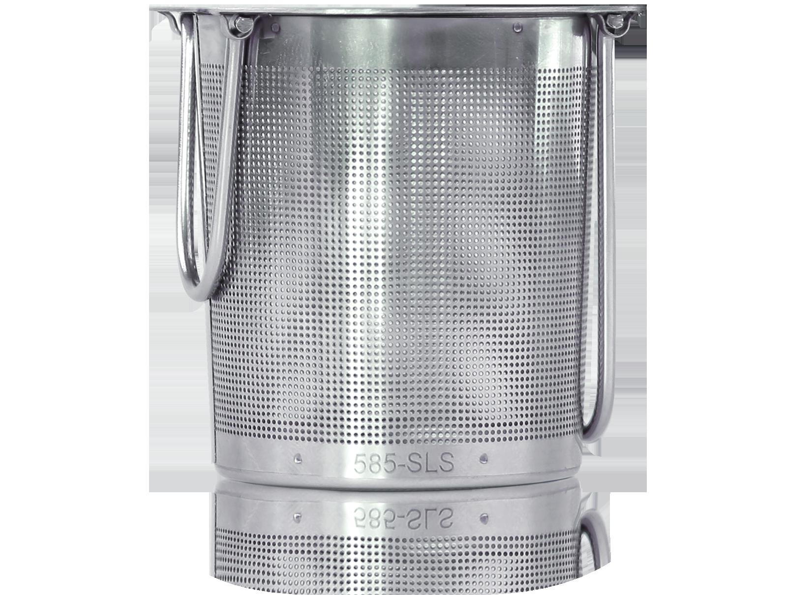 Filtre à thé avec poignées rabattables et repose-filtre