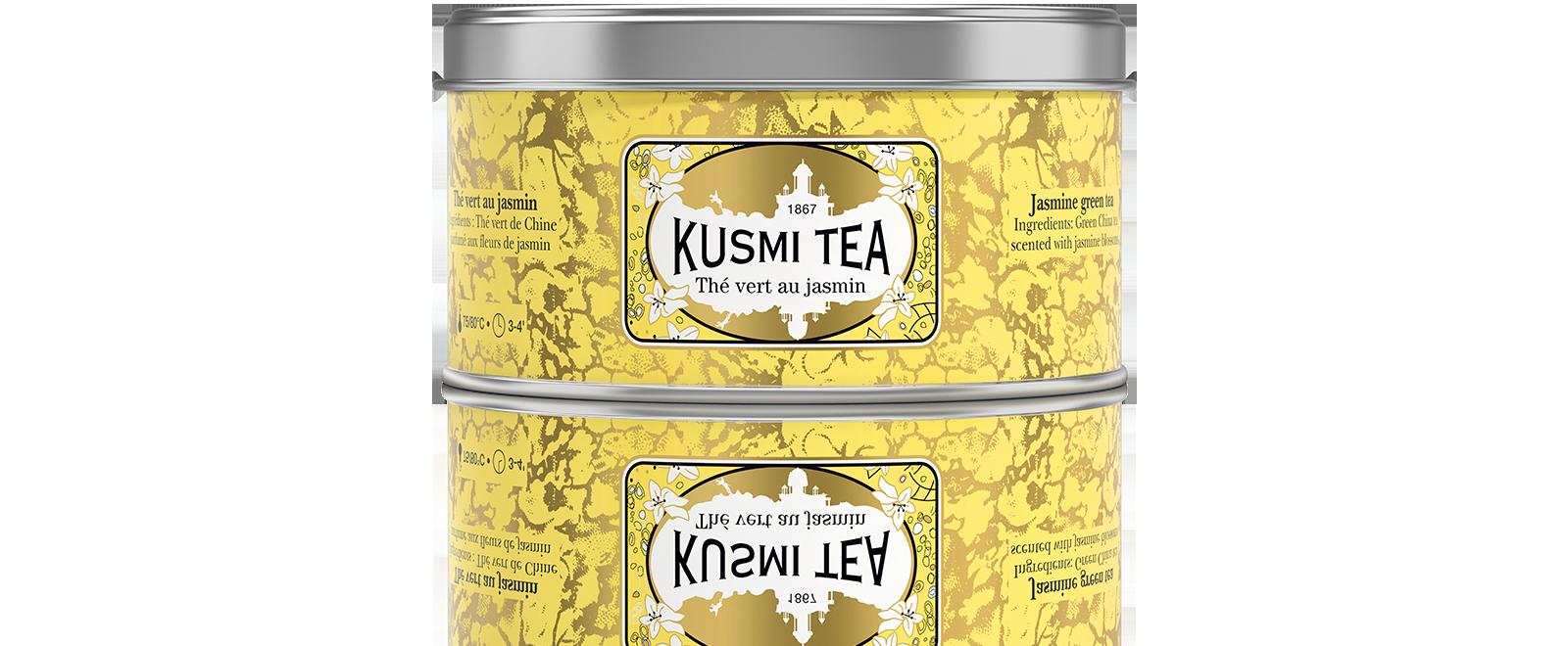 Thé vert - Thé vert parfumé au jasmin - Kusmi Tea