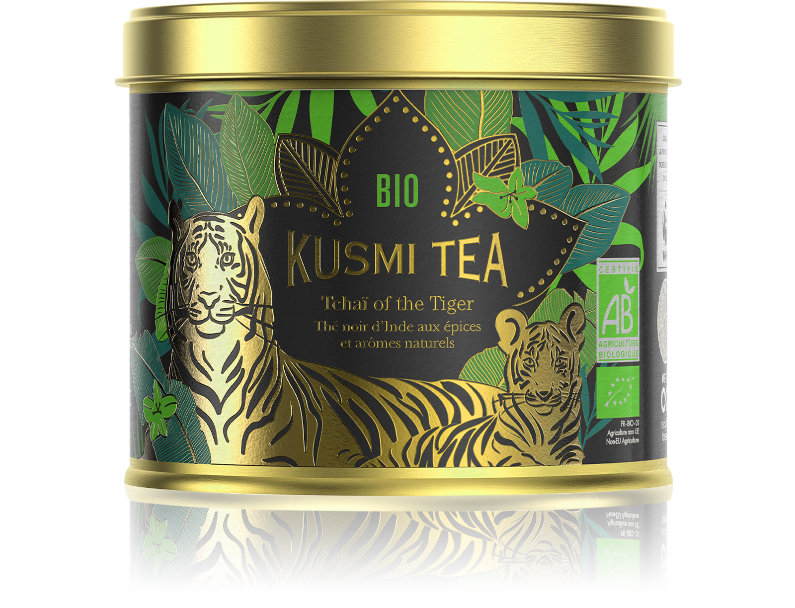 Tchaï of the Tiger - Thé noir Chaï Bio Kusmi Tea