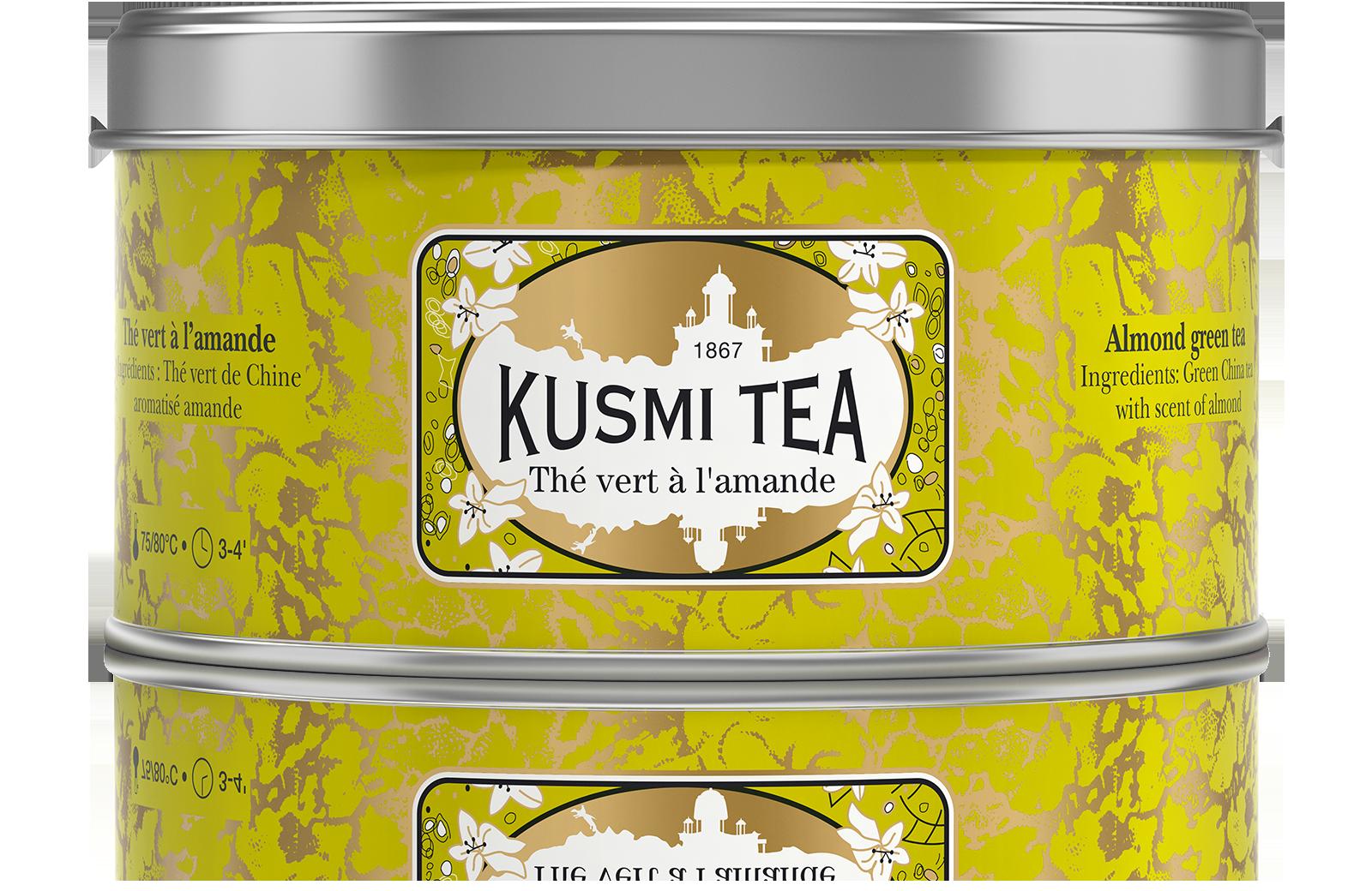 Thé vert - Thé vert à l'amande - Vrac - Kusmi Tea