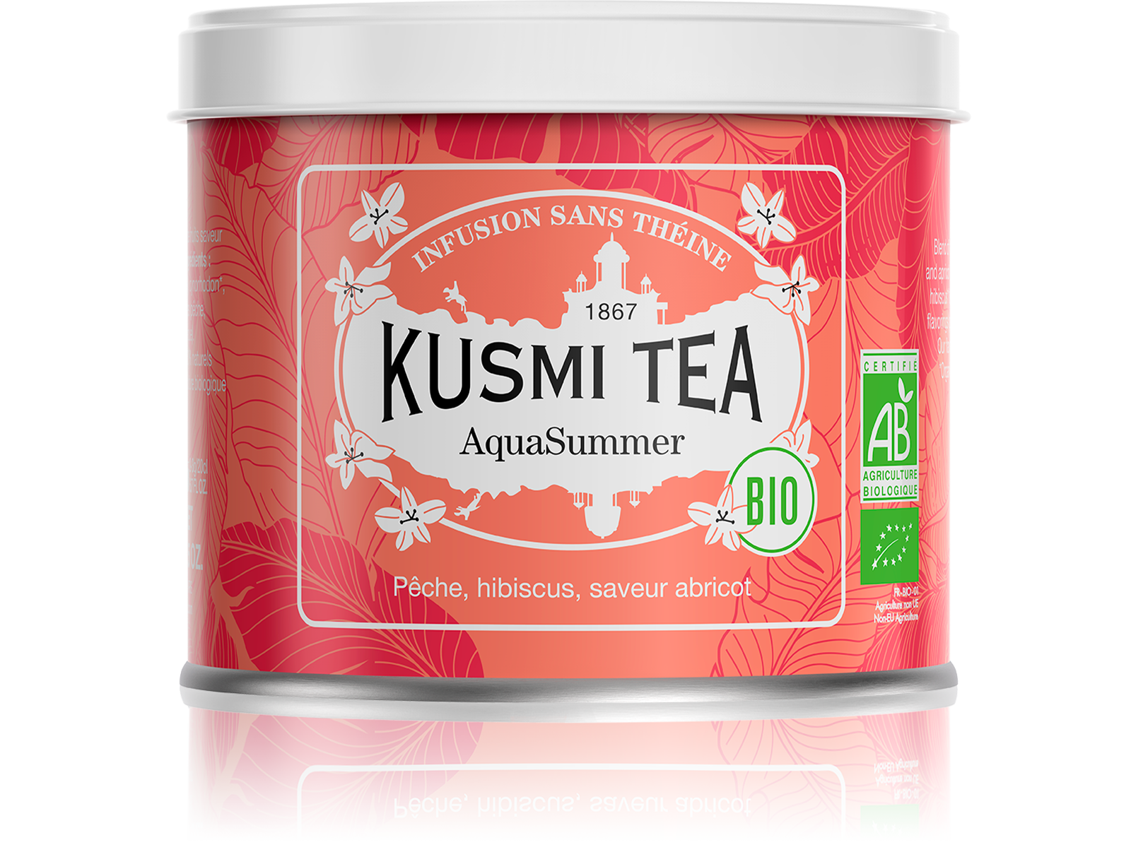 Infusion - AquaSummer (Infusion de fruits bio) - Kusmi Tea