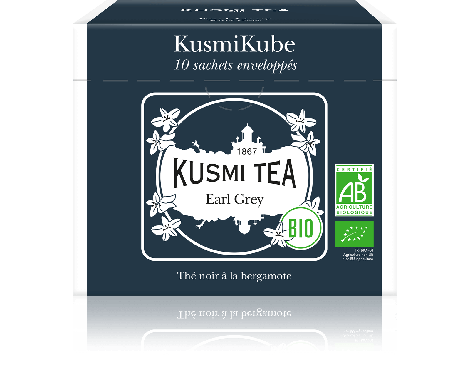 Earl Grey bio - Thé noir, bergamote - Sachets de thé - Kusmi Tea