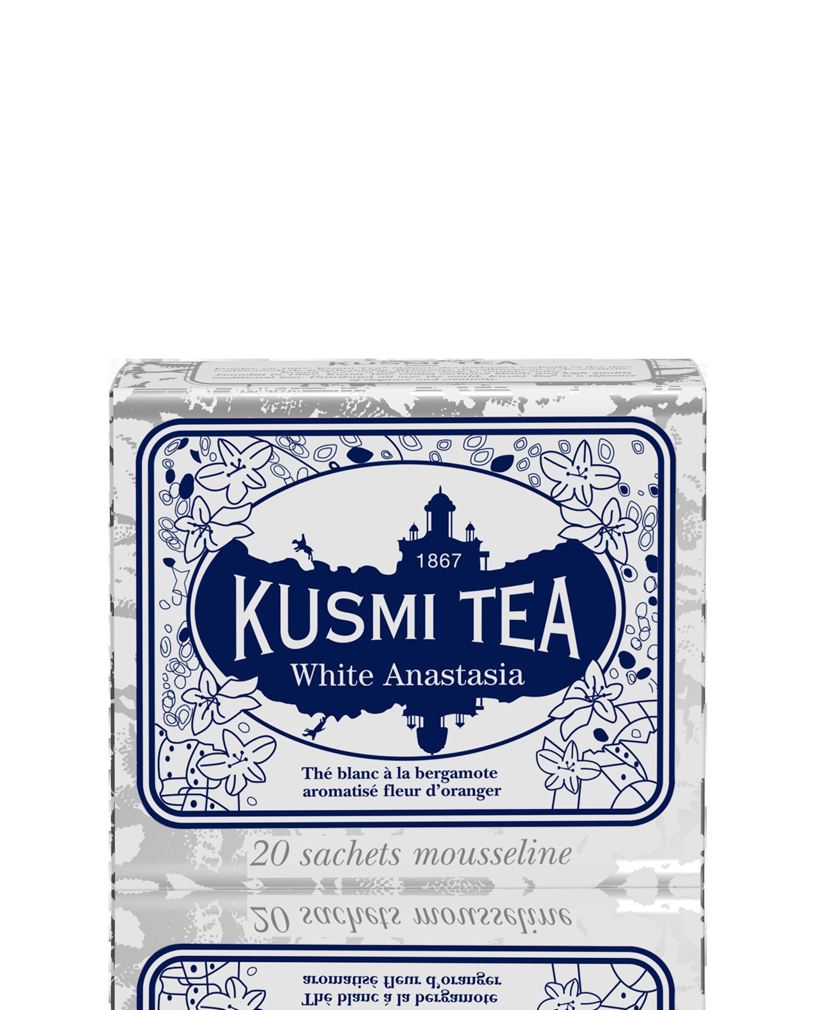 White AnastasiaThé Blanc - sachets Kusmi Tea