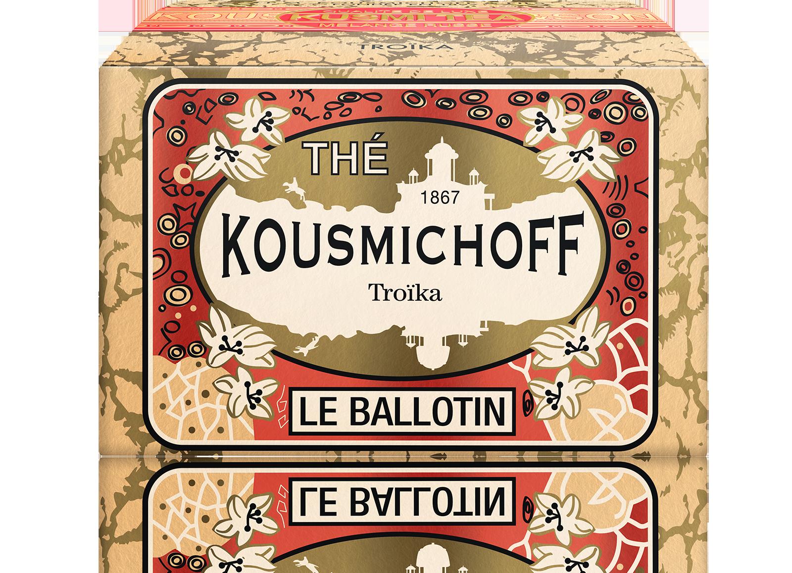Thé noir - Troïka - Vrac - Kusmi Tea