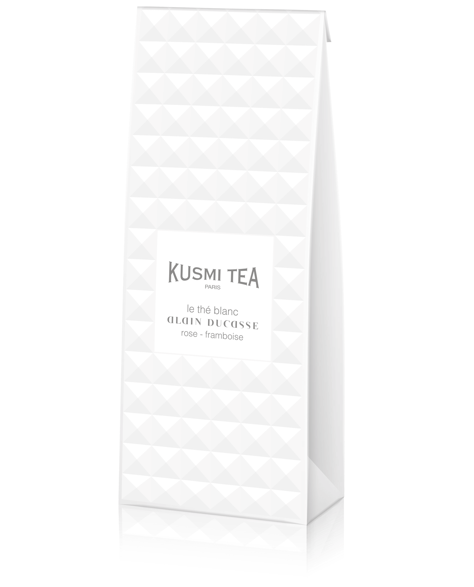 Le Thé Blanc Alain Ducasse - Thé blanc aromatisé framboise et rose - Thé en vrac - Kusmi Tea
