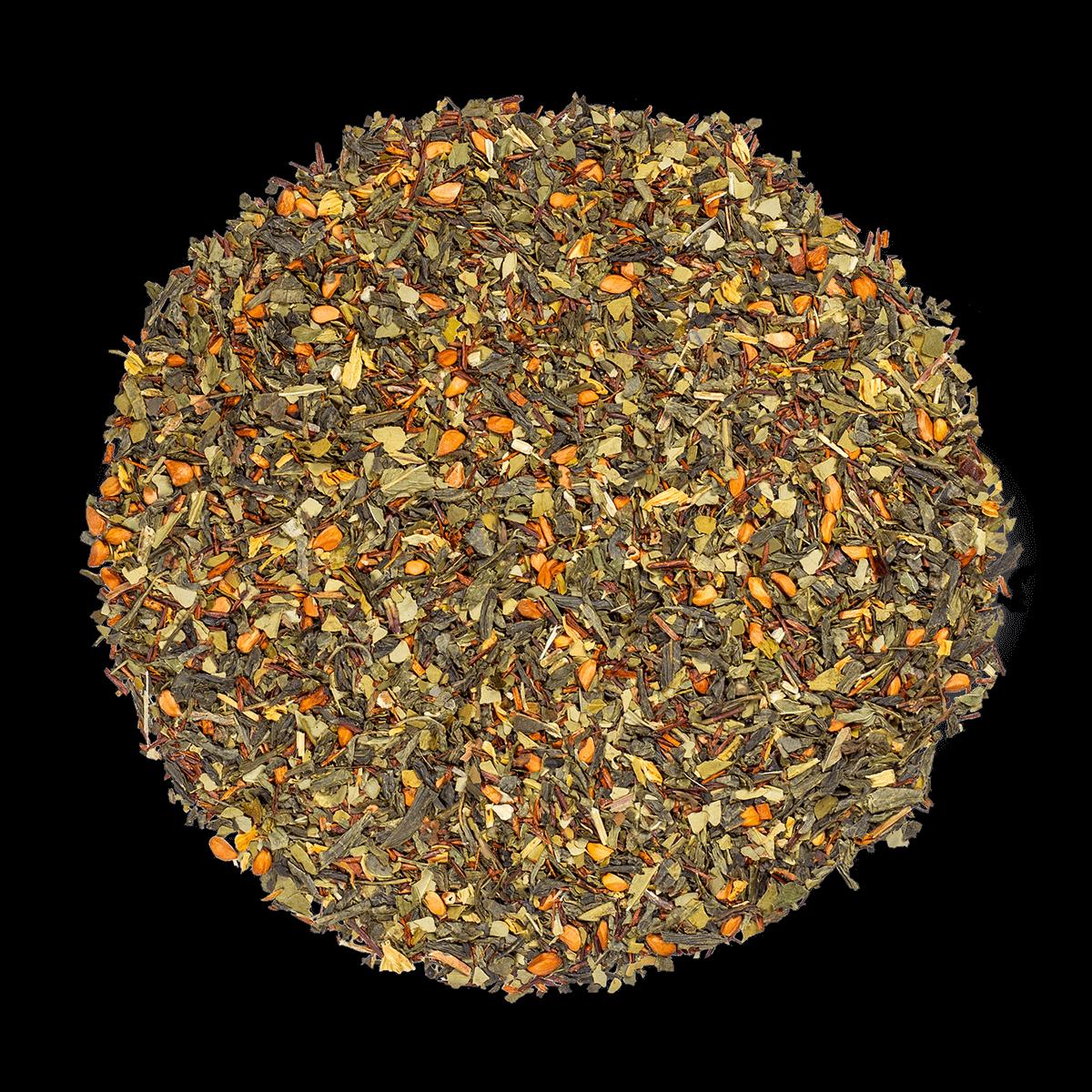 Blue Detox bio - Mélange de thé vert, maté et plantes aromatisé ananas - Thé en vrac - Kusmi Tea