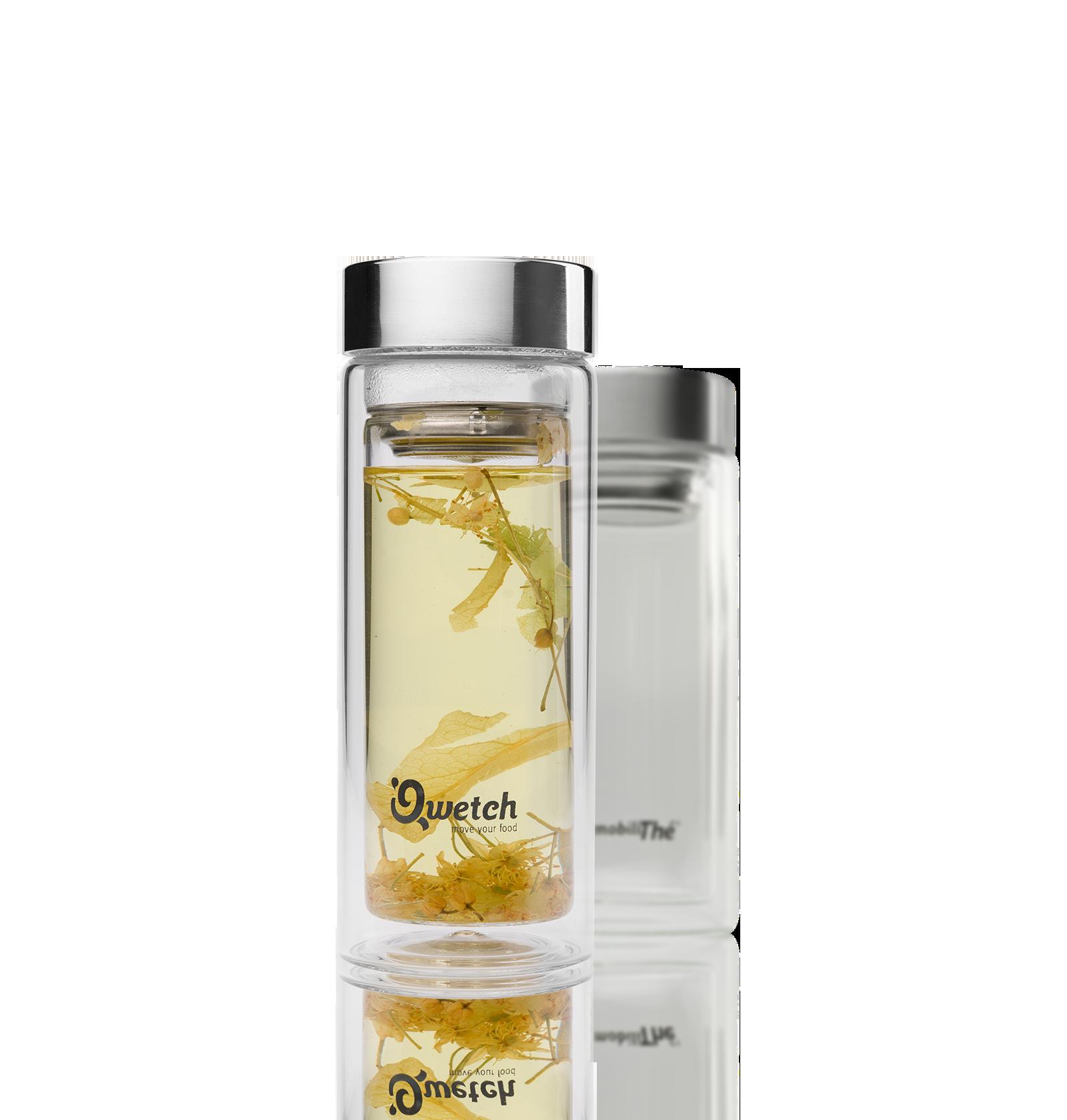 Gourde en verre 35Cl - Accessoire pour le thé - Kusmi Tea