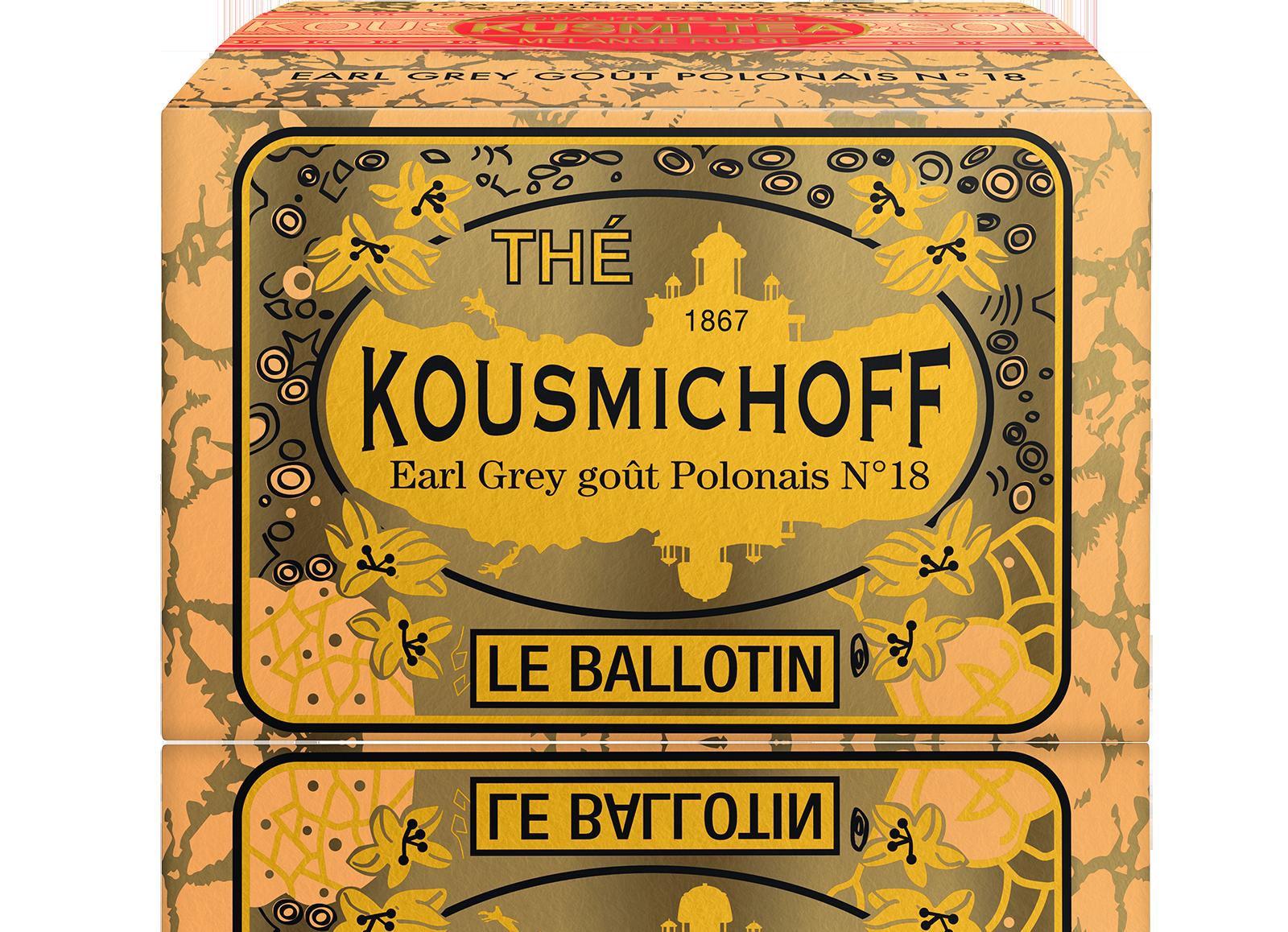 Earl Grey - Earl Grey goût Polonais N°18 - Vrac - Kusmi Tea