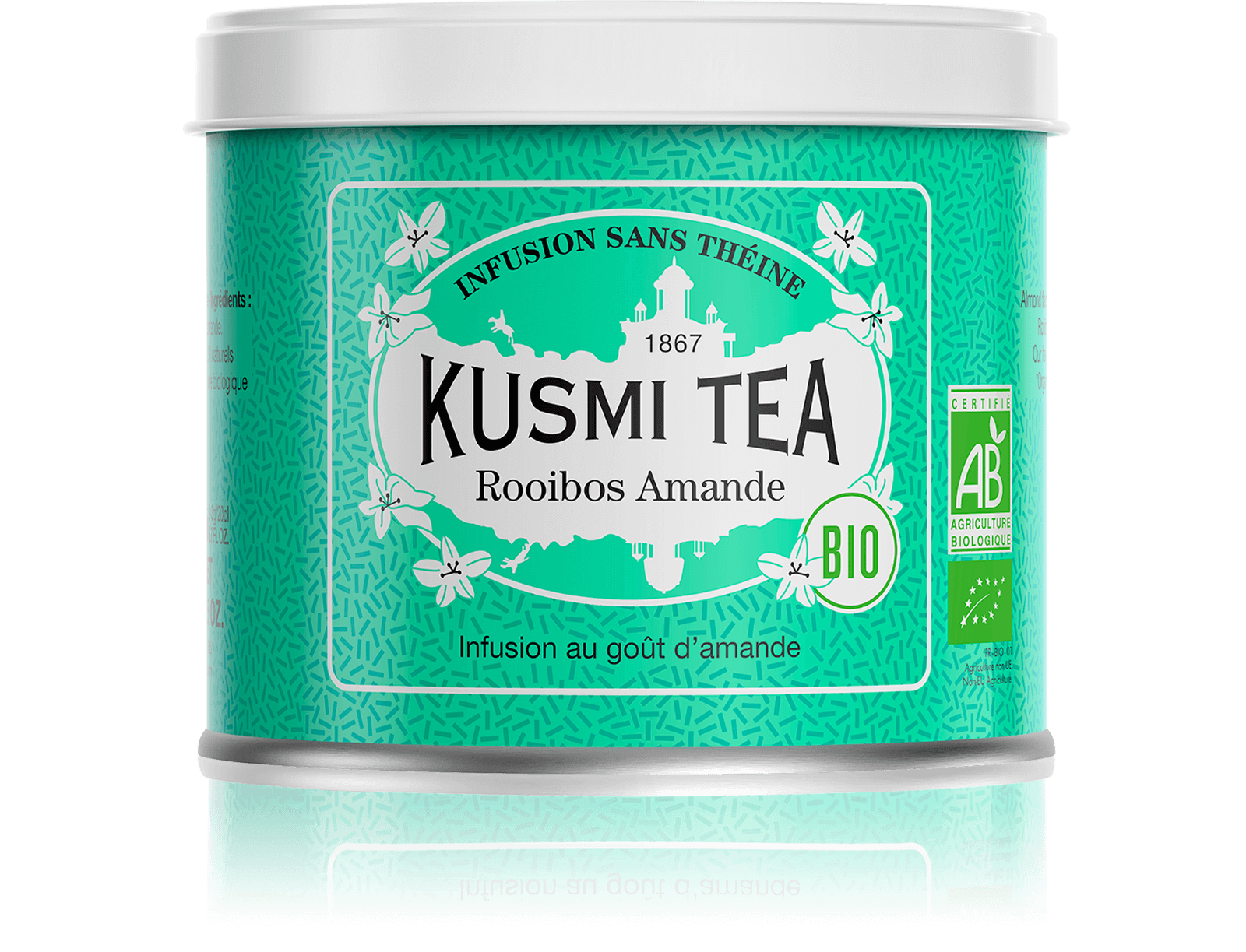 Rooibos Amande (Infusion bio) - Kusmi Tea