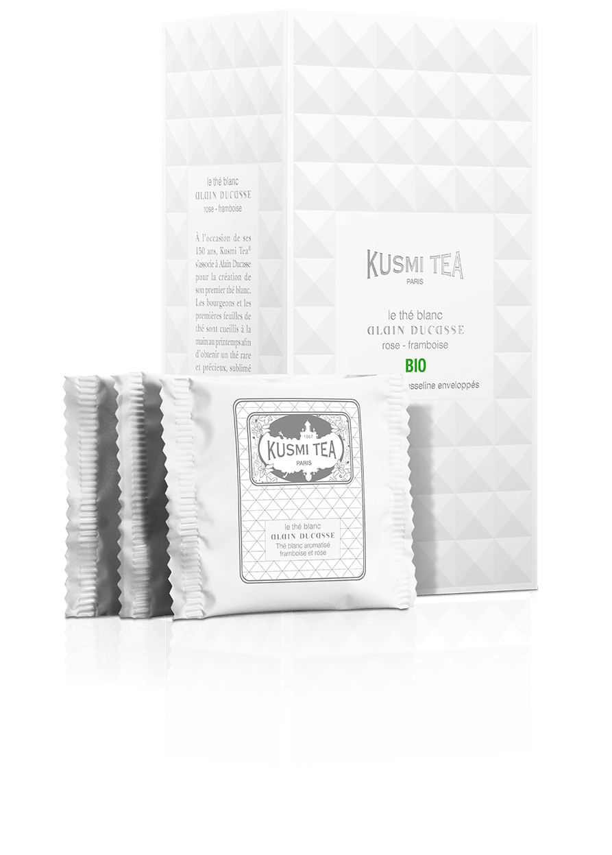 Thé blanc - Le Thé Blanc Alain Ducasse Bio - Sachets - Kusmi Tea