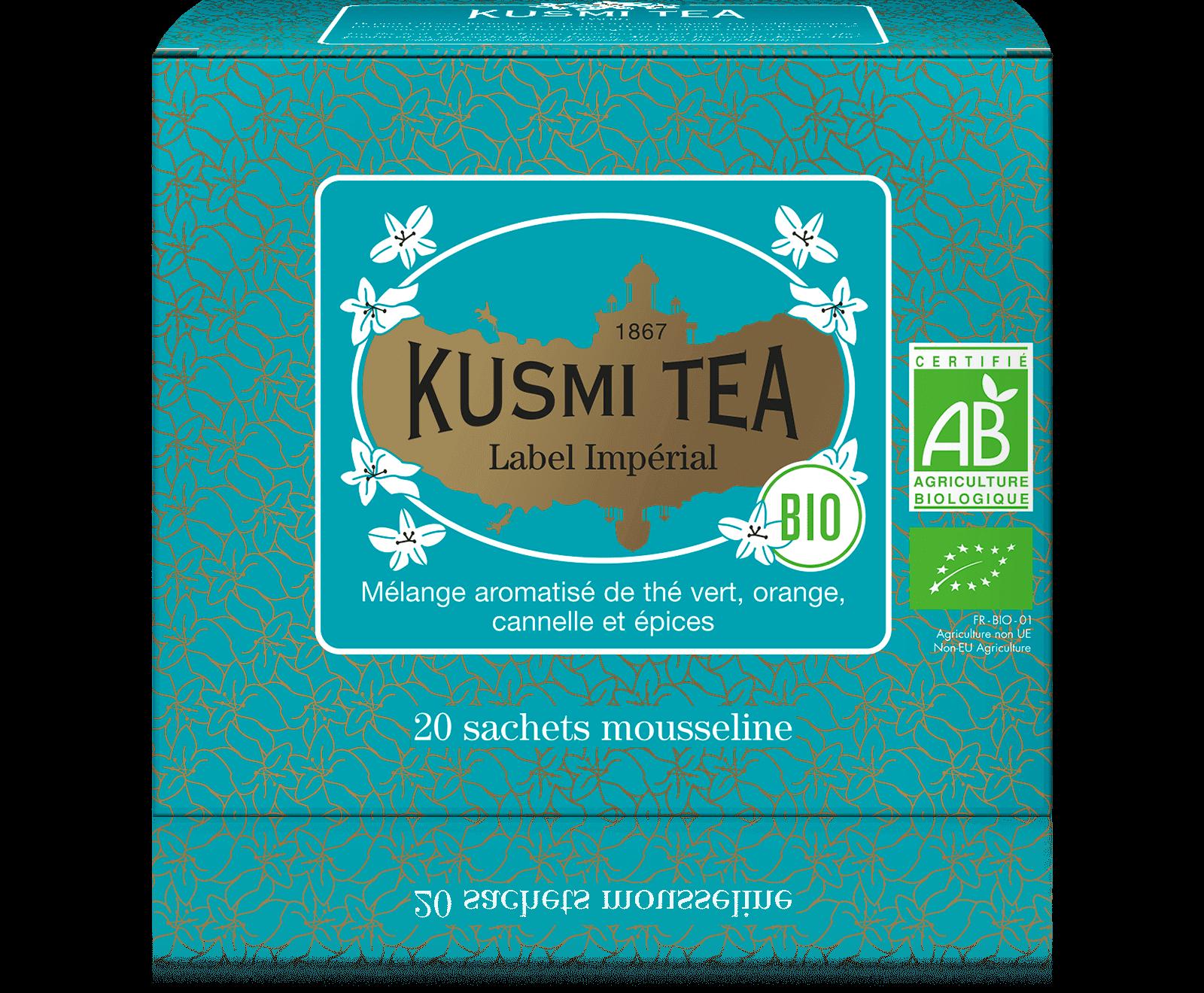 Thé vert - Label Imperial bio - Sachets - Kusmi Tea