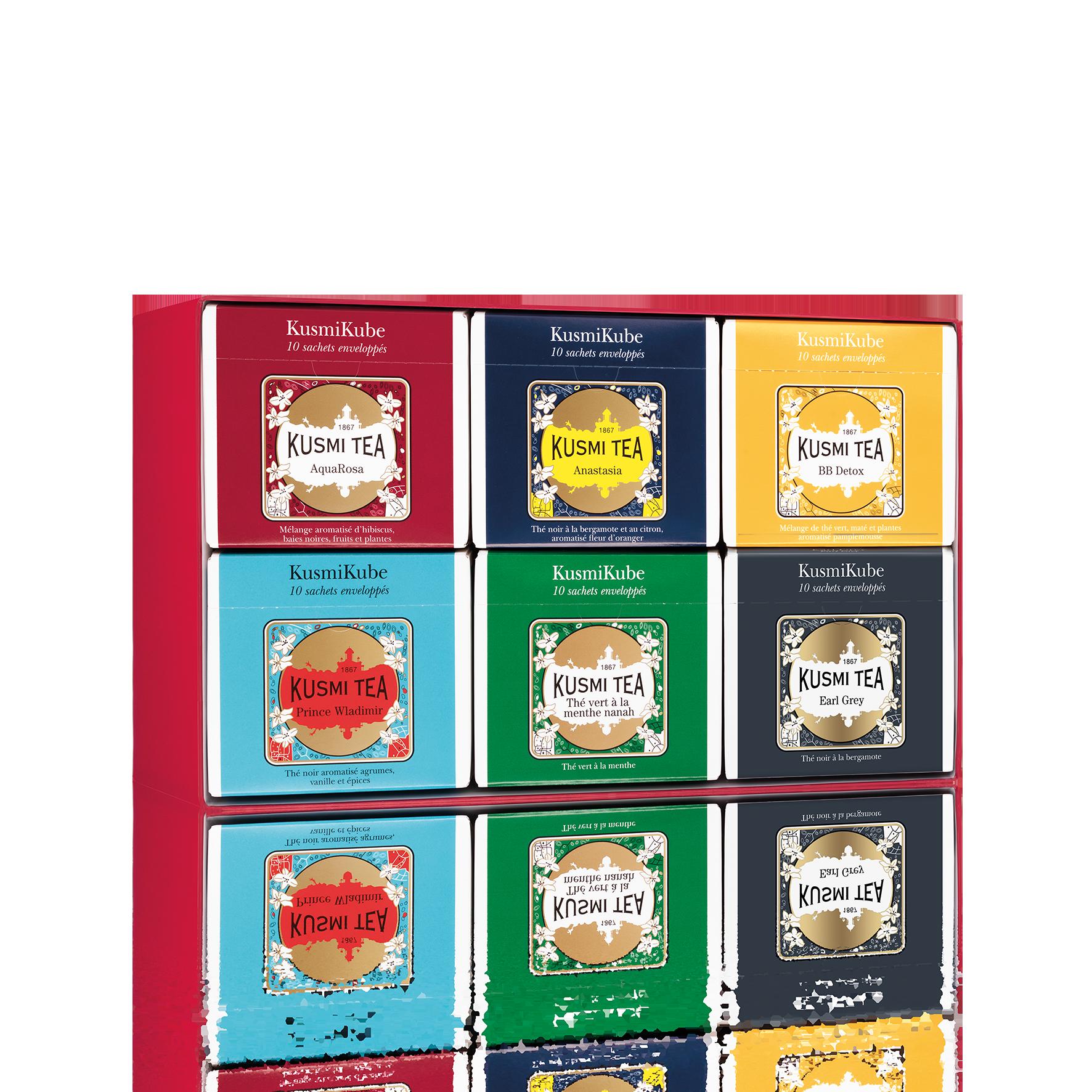 Coffret 6 KusmiKubes - Coffret pour 6 KusmiKubes - Kusmi Tea