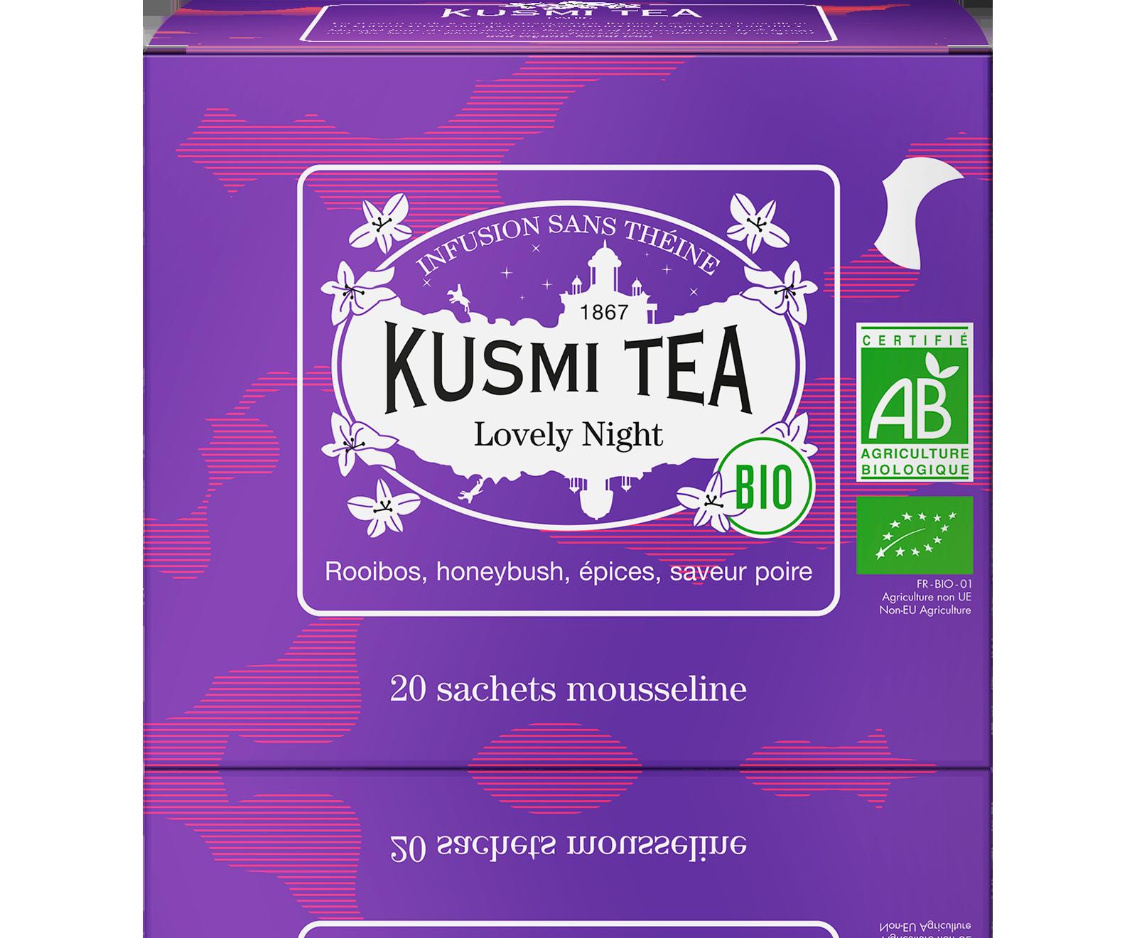 Infusion - Lovely Night (Infusion bio) - Sachets - Kusmi Tea