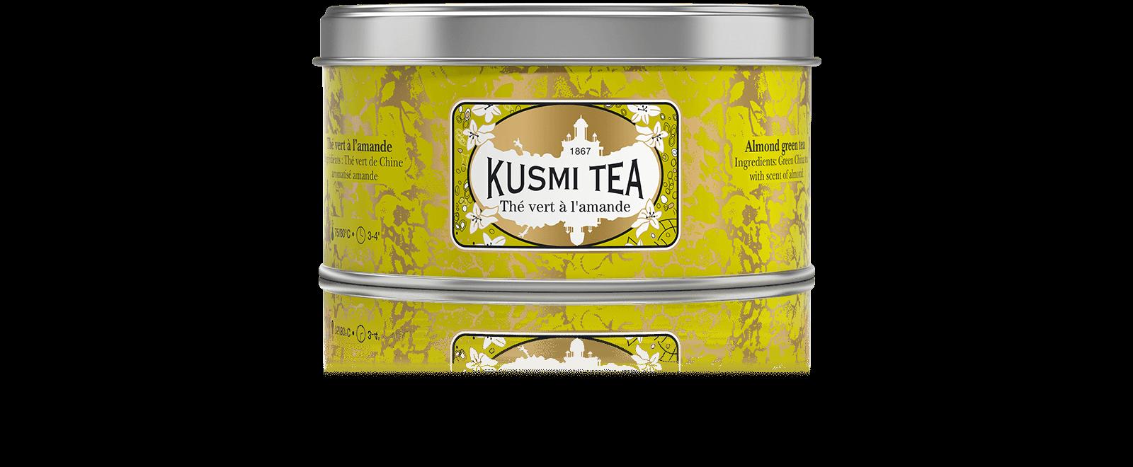 Vert Amande - Thé vert à l'amande - Kusmi Tea