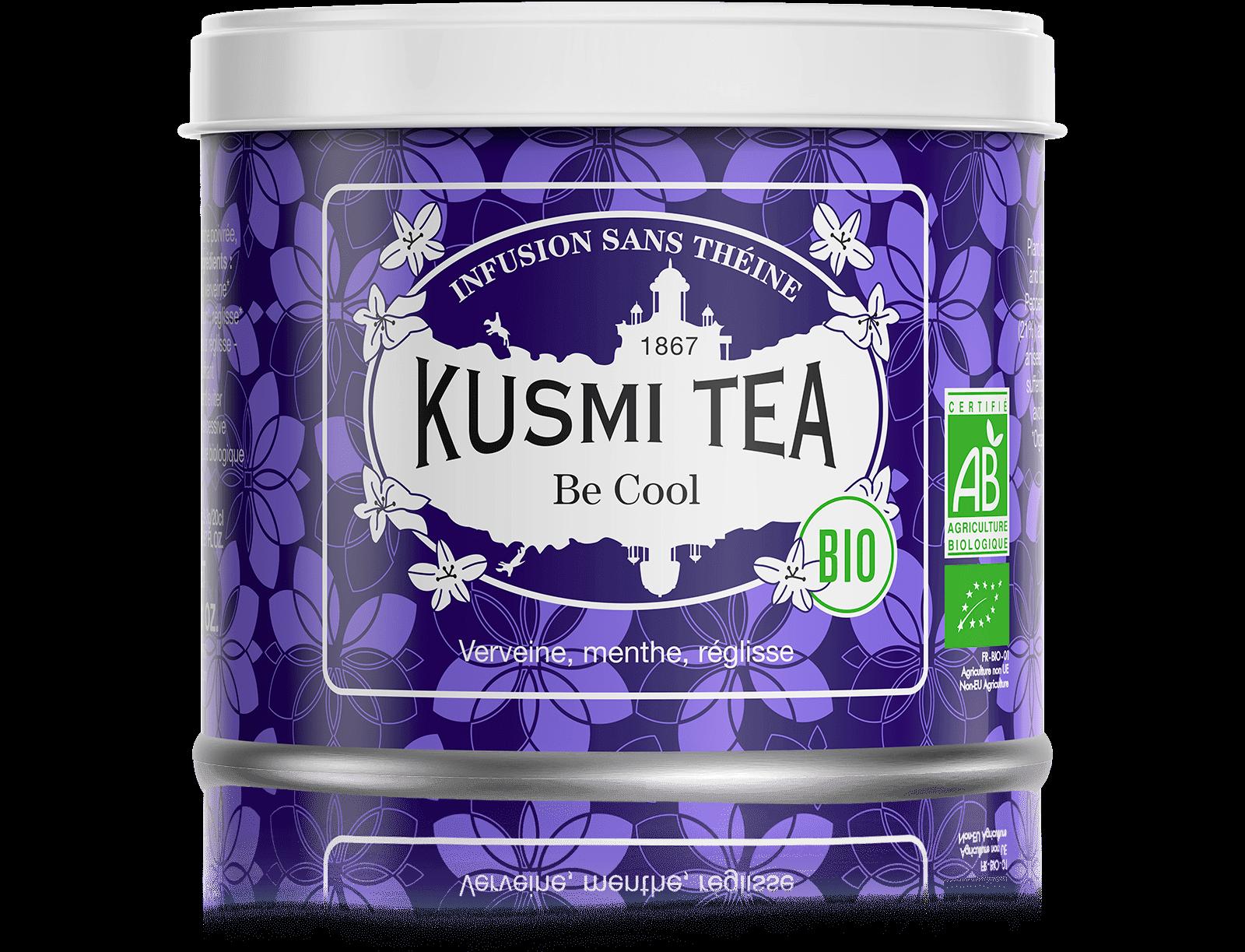 Be Cool bio - Infusion verveine - Boîte de thé en vrac - Kusmi Tea