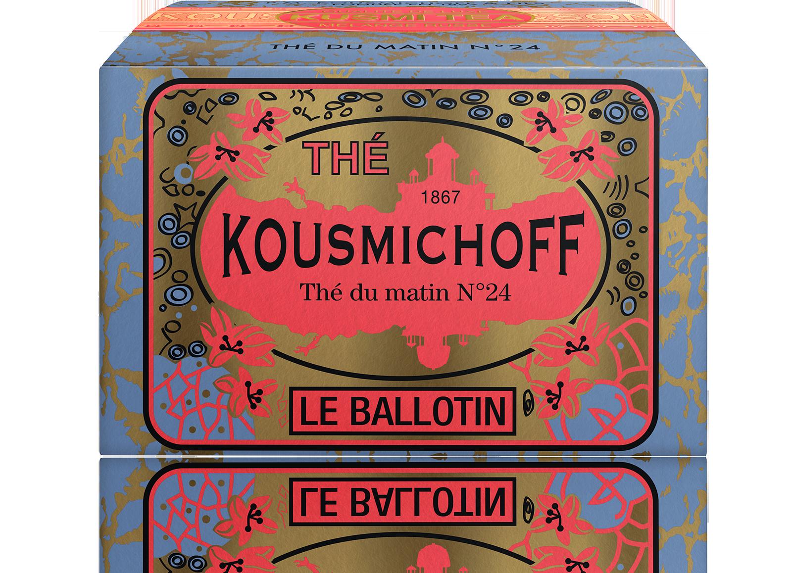 Thé noir - Thé du Matin N°24 - Vrac - Kusmi Tea