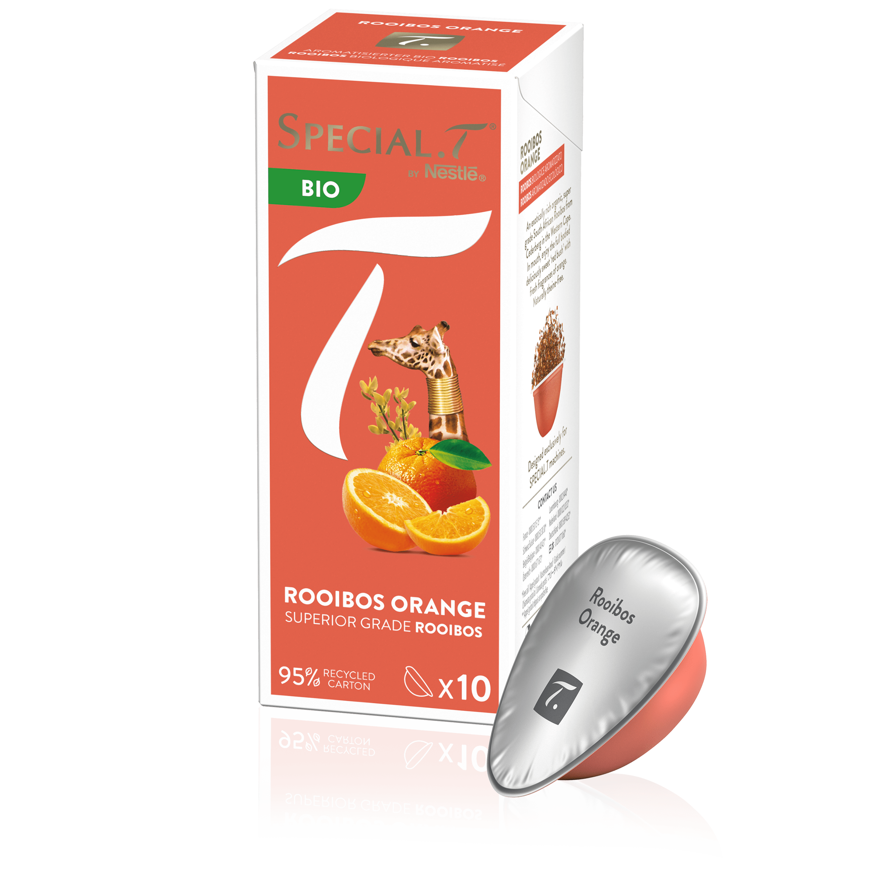 Capsule Rooibos Orange bio - Special.T - Kusmi Tea