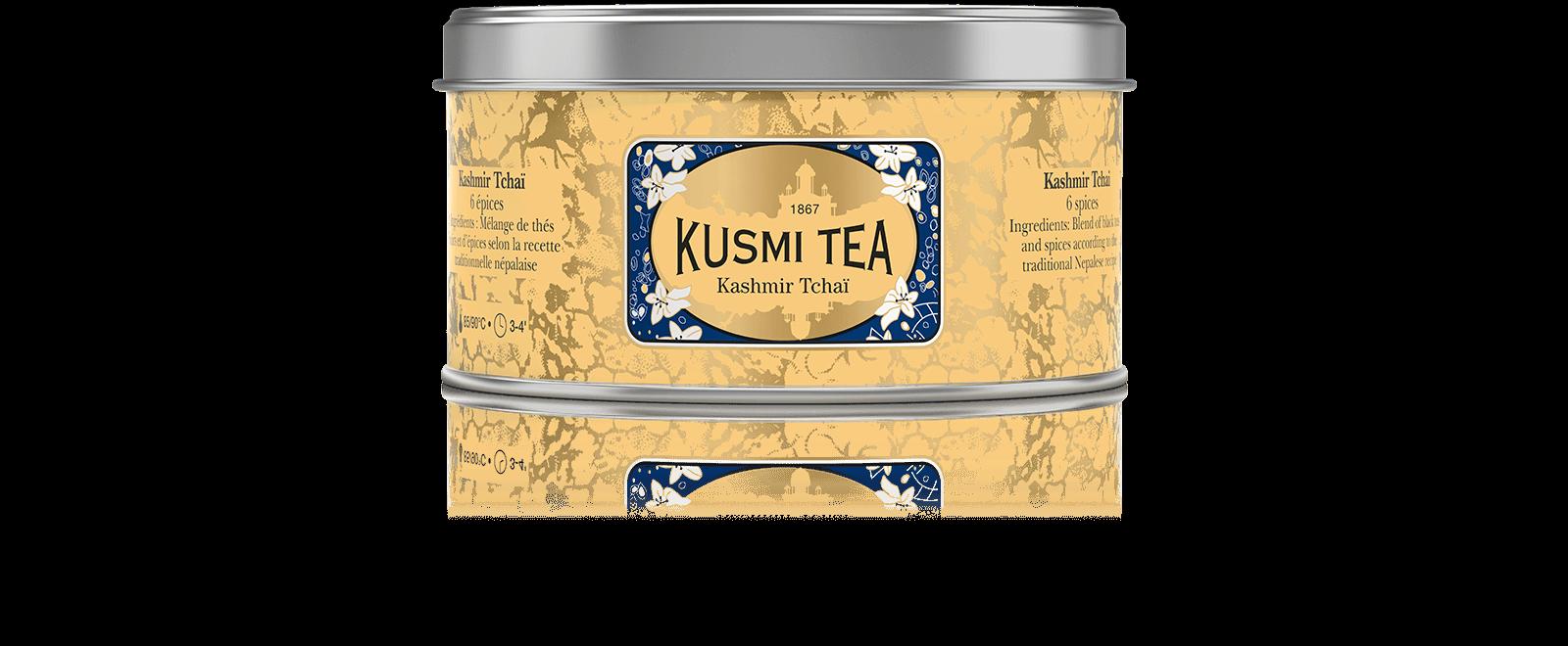 Kashmir Tchaï - Thé noir aux épices - Kusmi Tea