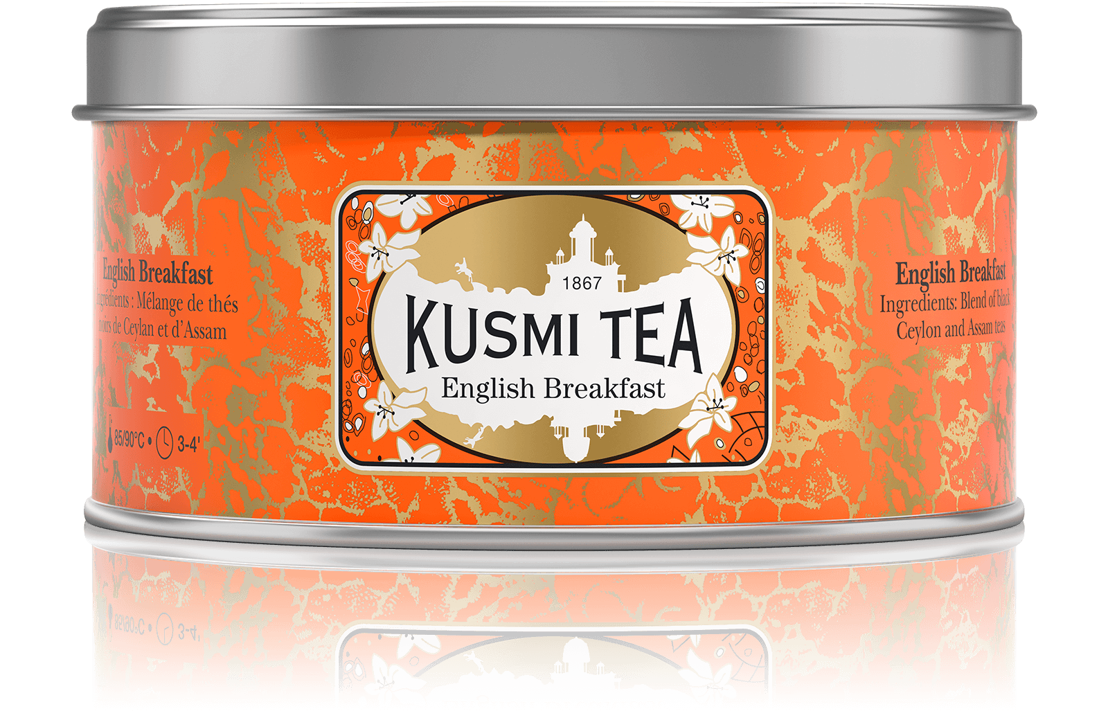 Thé noir - English Breakfast - Vrac - Kusmi Tea