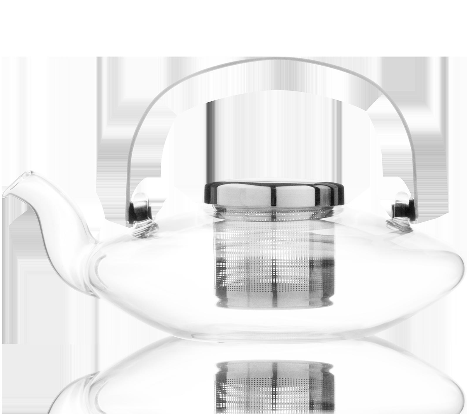 Théière en verre Leaf - Accessoire pour le thé - Kusmi Tea