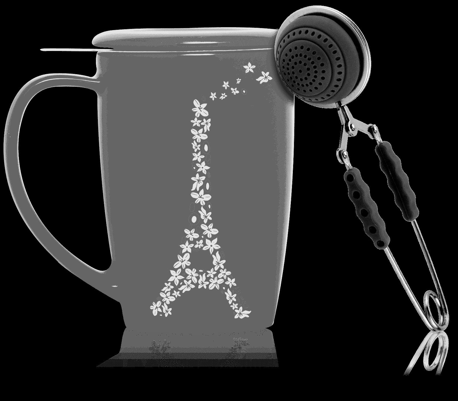 Pince à thé noire - Accessoire pour le thé - Kusmi Tea