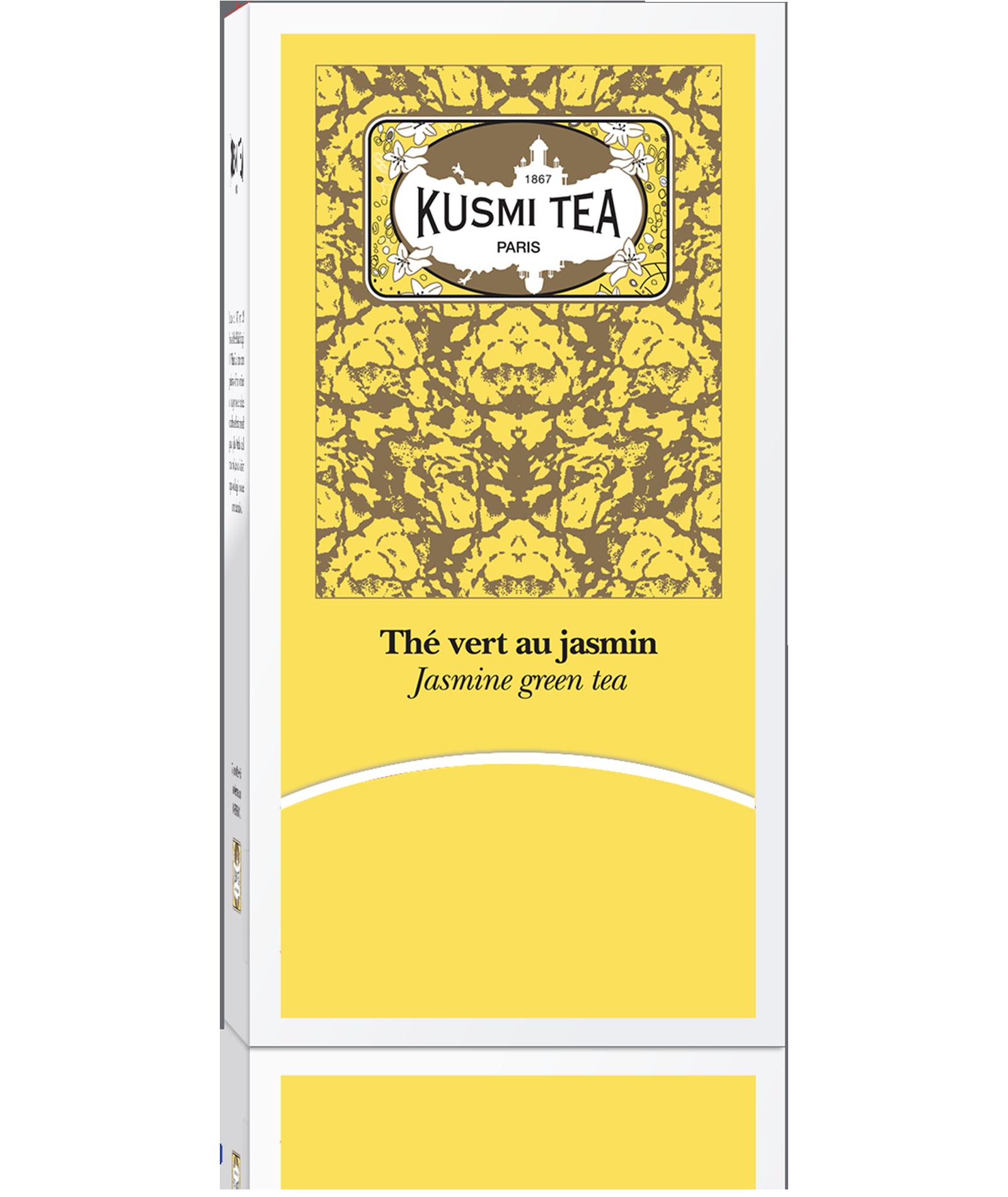 Thé vert parfumé au jasmin