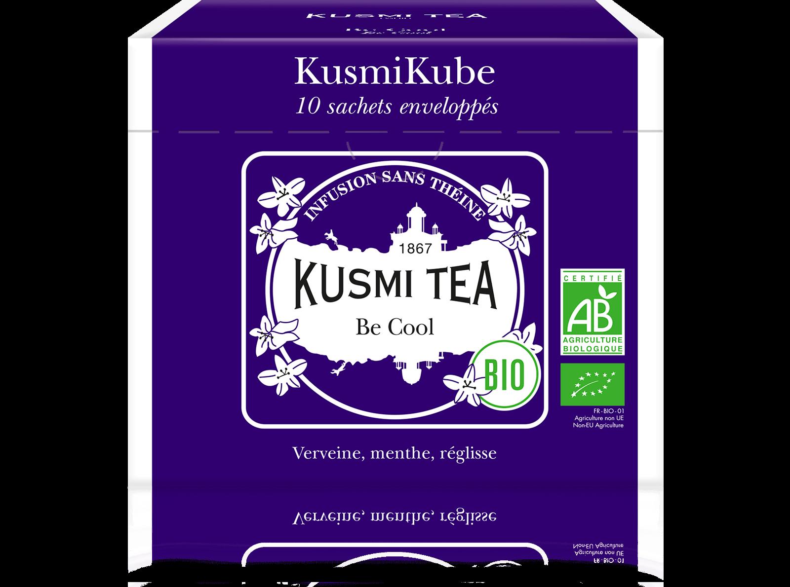 Be Cool bio - Infusion verveine - Sachets de thé - Kusmi Tea