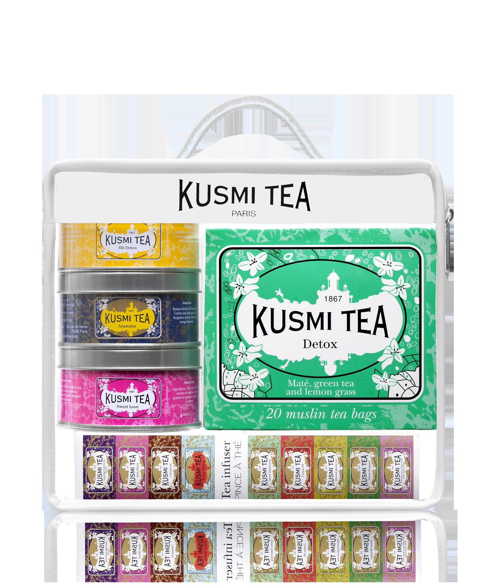 Assortiment de thés en sachets & vracTrousse de Voyage Kusmi Tea