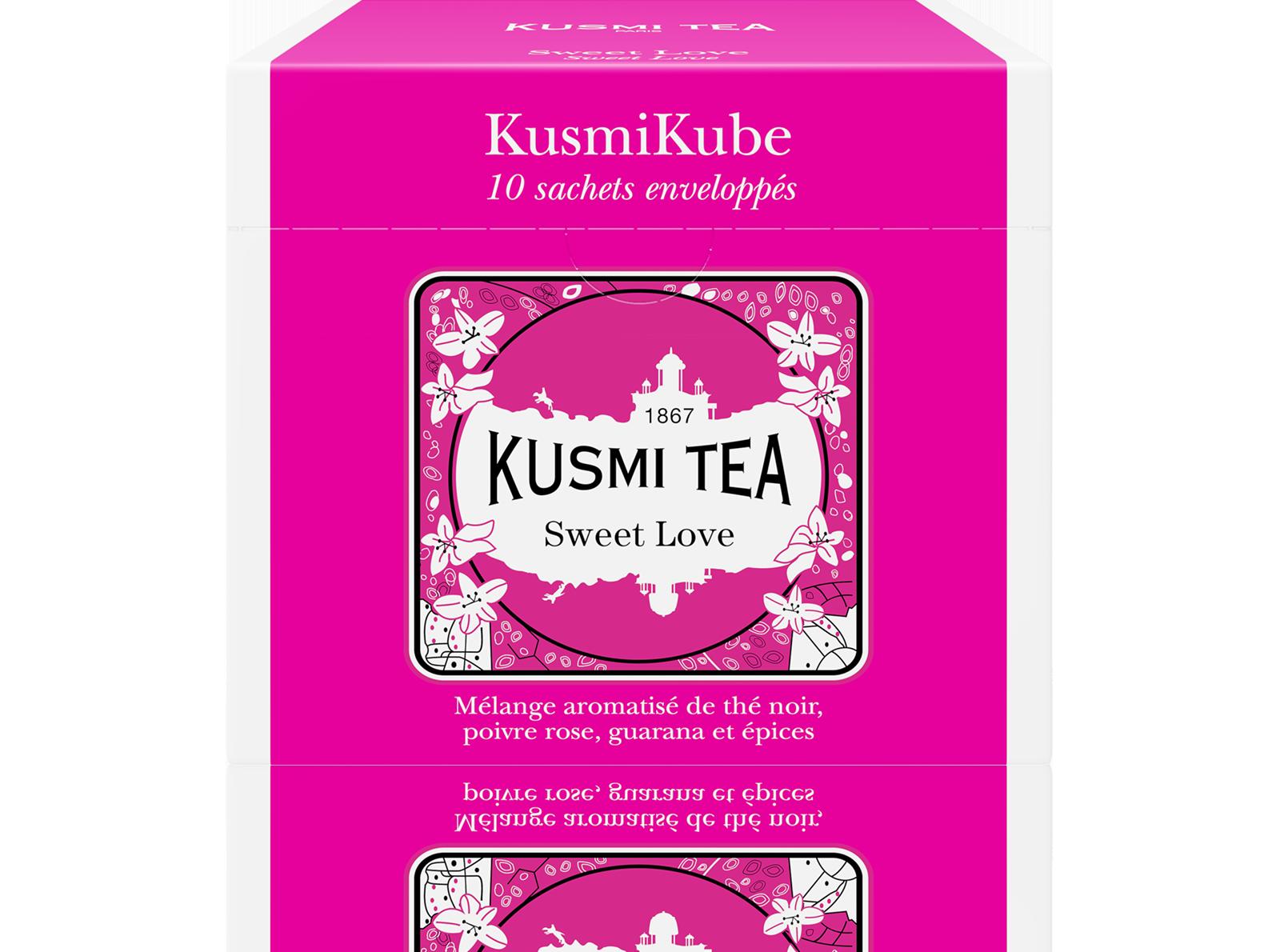 Thé noir sachet - Sweet Love - Kusmi Tea