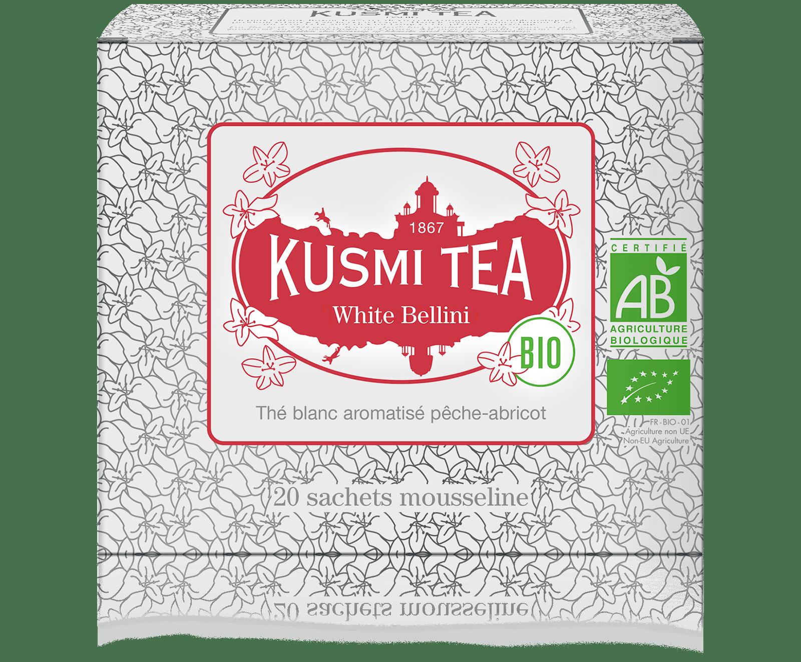 Thé blanc - White Bellini bio - Sachets - Kusmi Tea