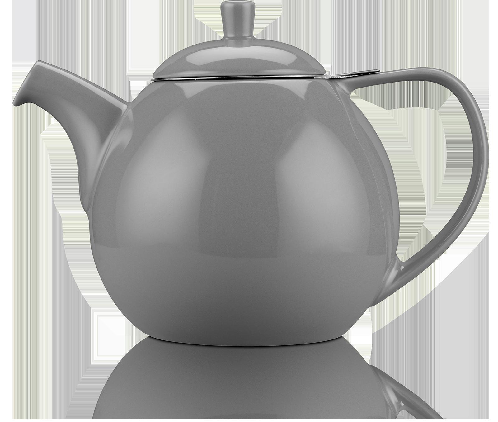 Théière Curve Céramique avec filtre 1,3L - Kusmi Tea
