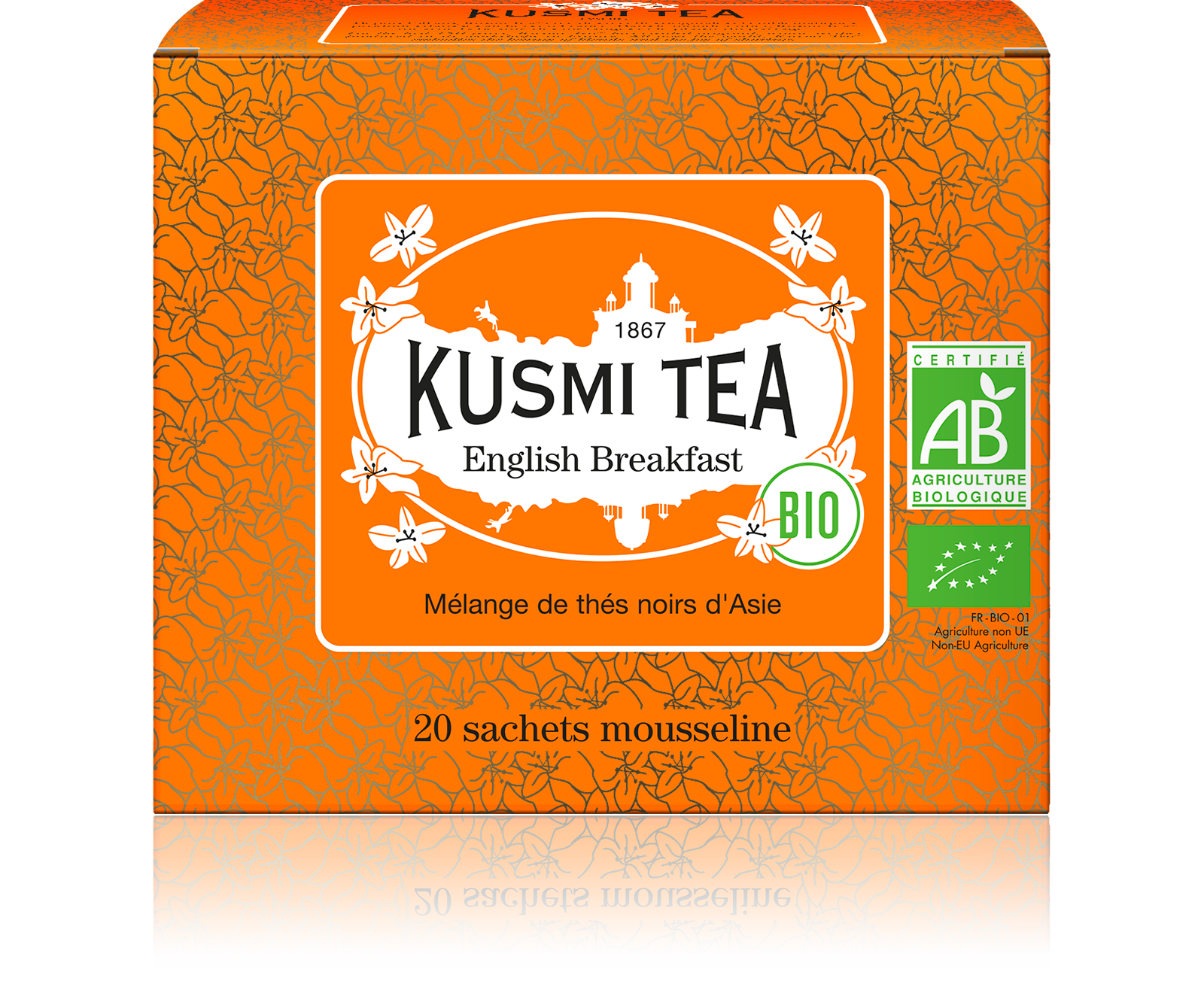 Thé noir sachet - English Breakfast Bio - Kusmi Tea