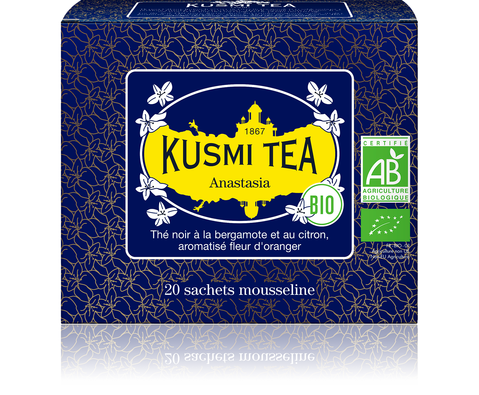 Earl Grey - Anastasia Bio - Sachets - Kusmi Tea