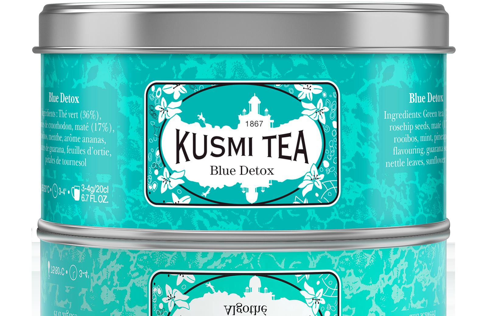 Blue Detox Thé Vert-Maté- Rooibos Kusmi Tea