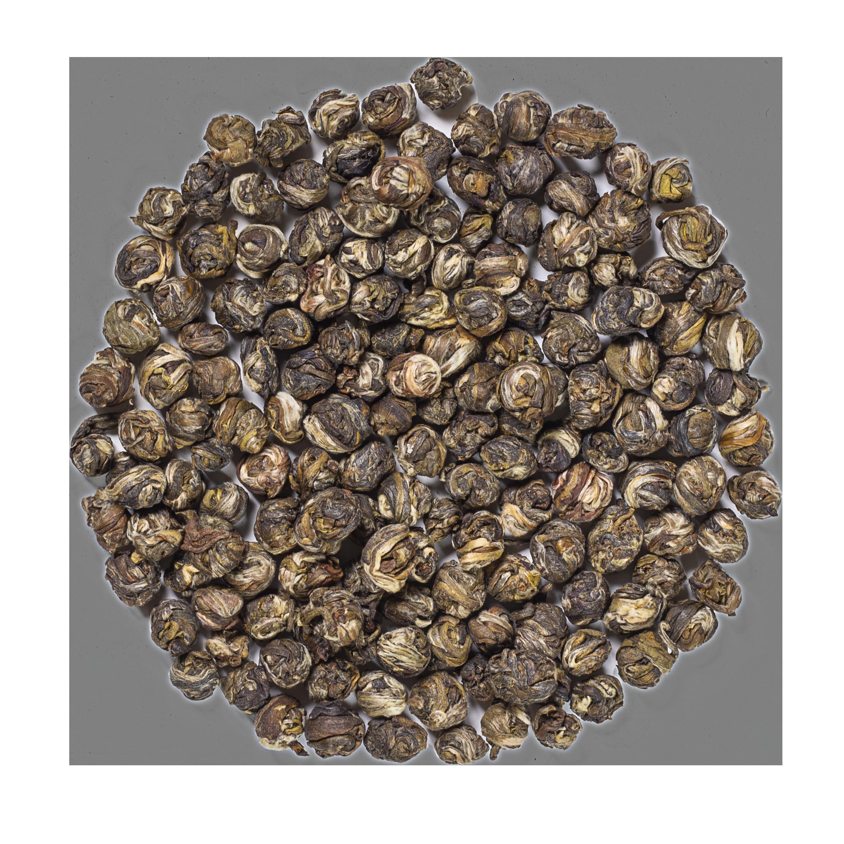 Perles de Jade au Jasmin bio - Thé vert de Chine, Jasmin - Thé en vrac - Kusmi Tea